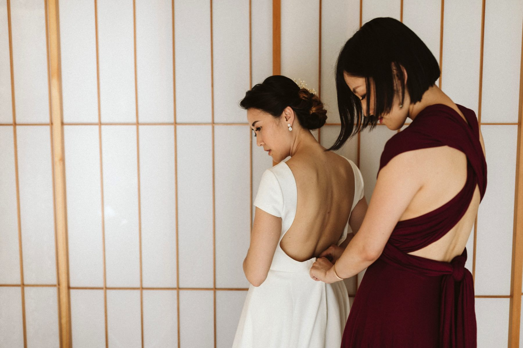 Japan architect wedding