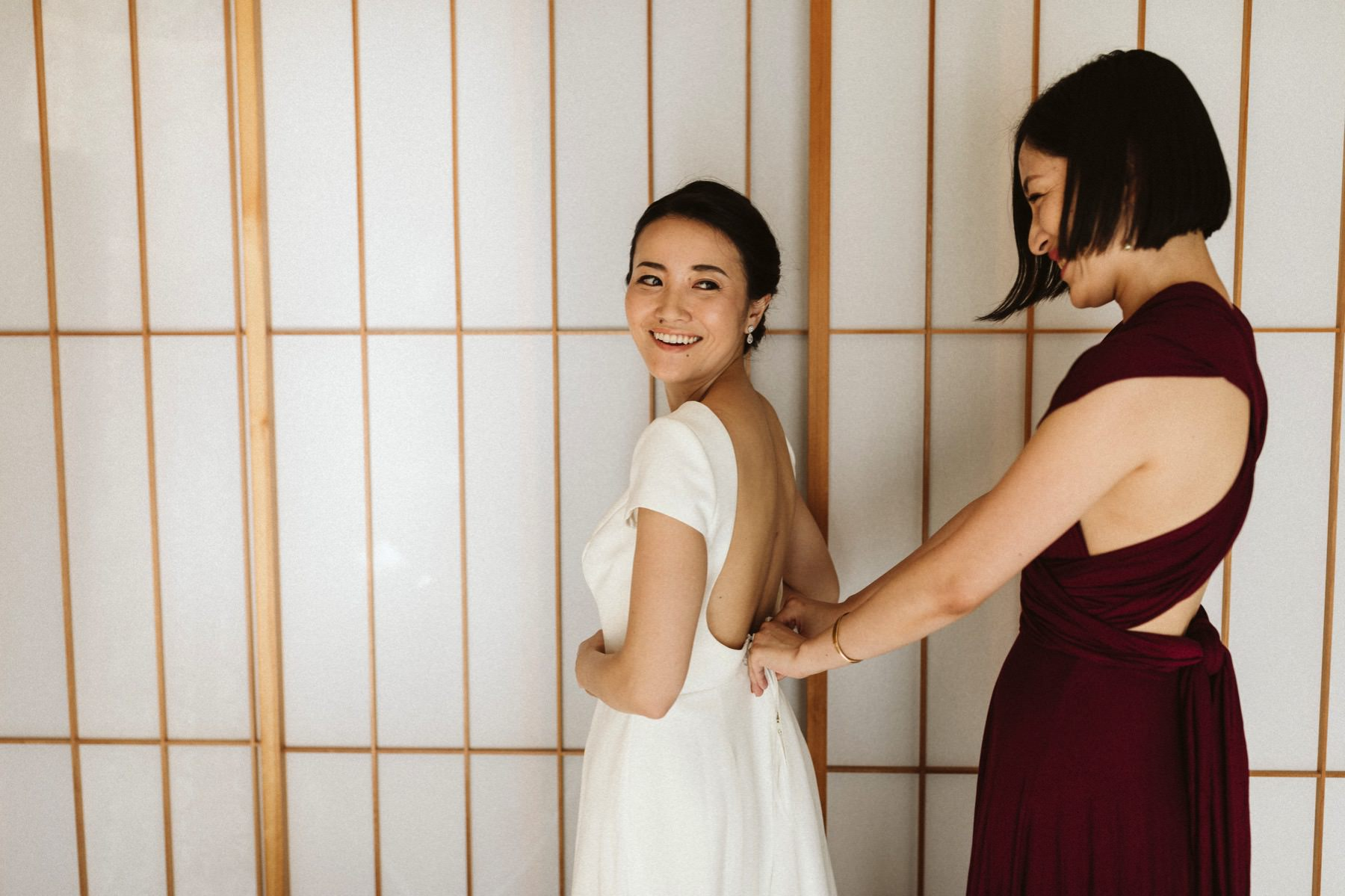 documentary wedding photographer Japan