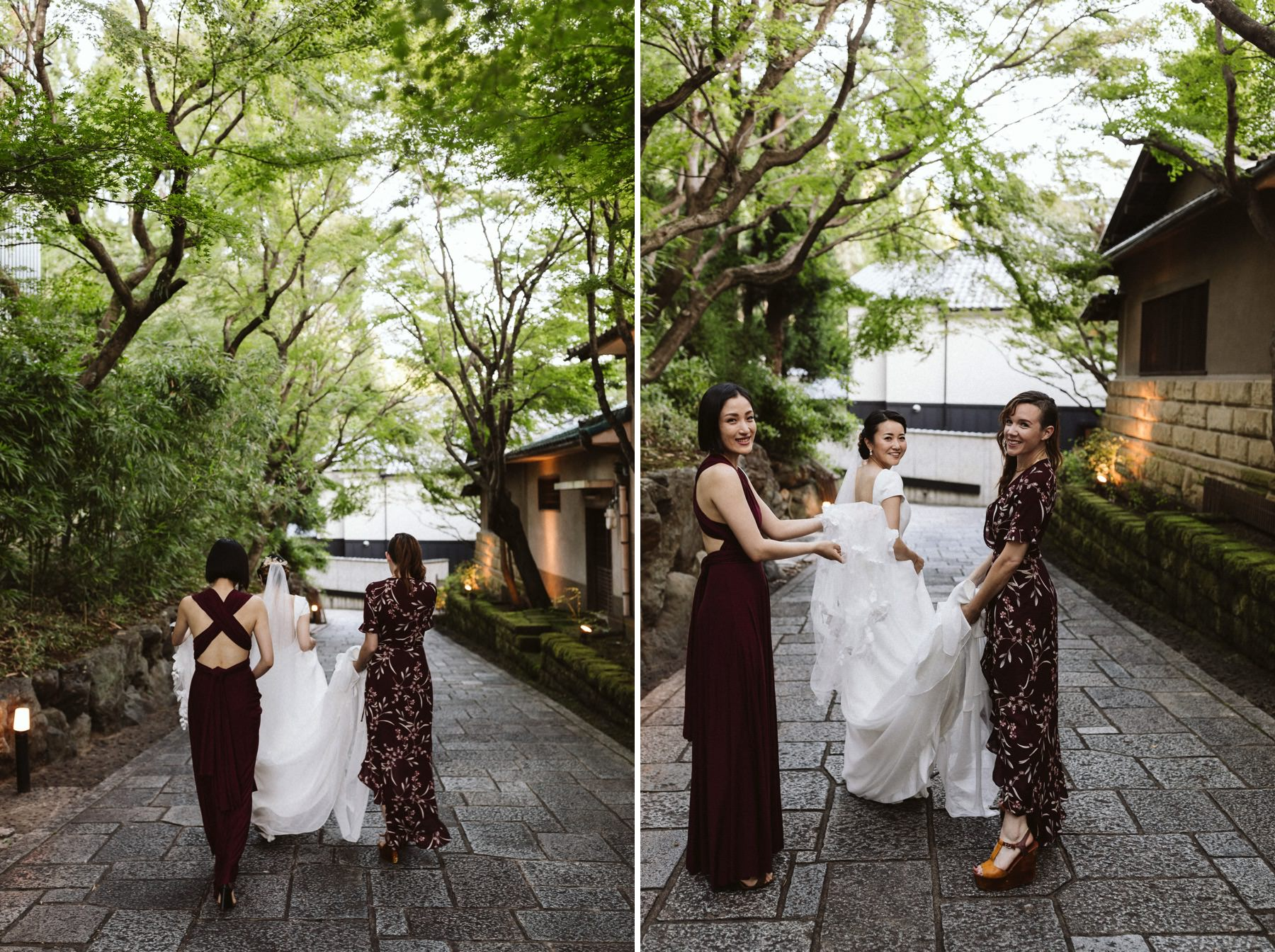 Shozan resort garden wedding