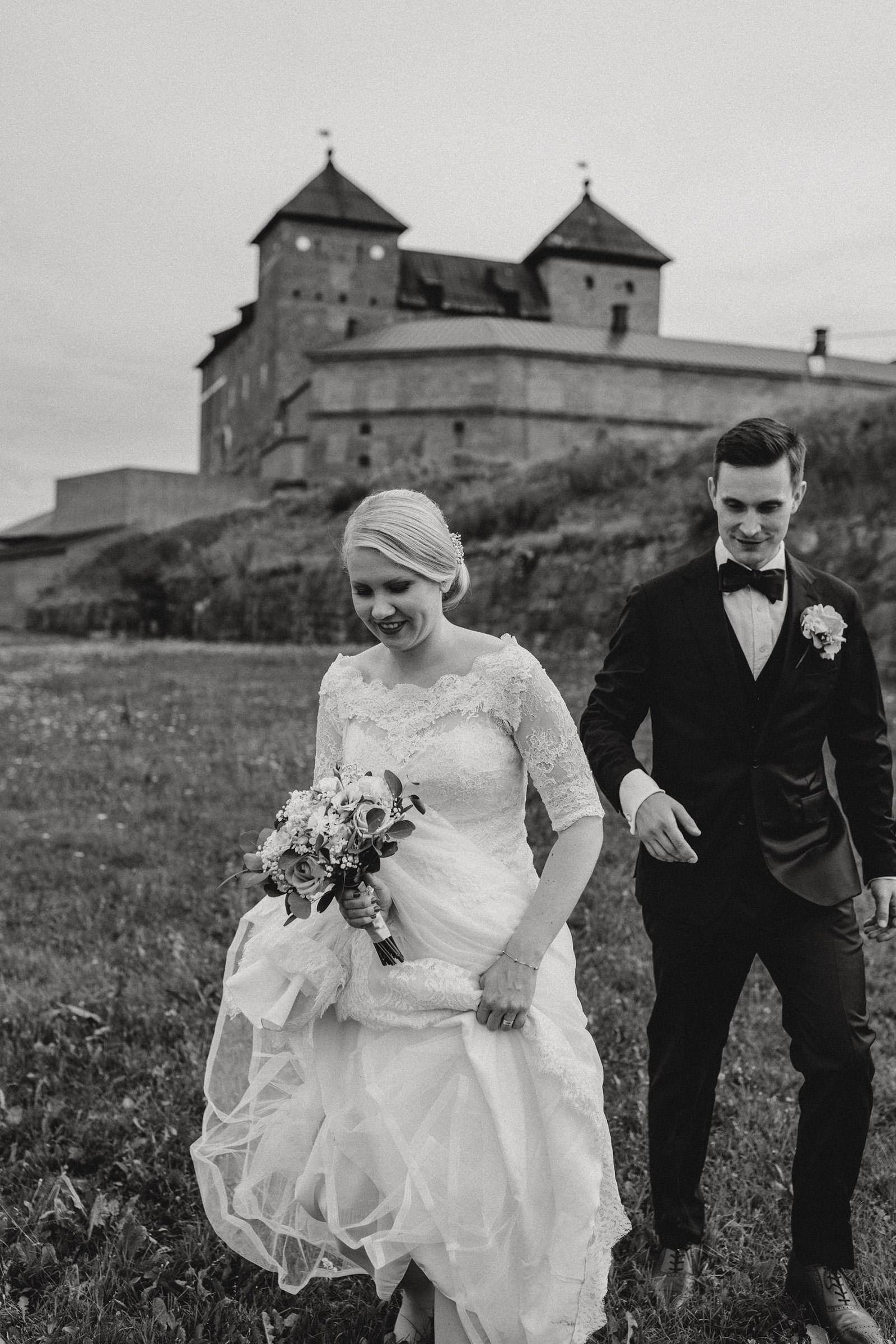 Hämeenlinna wedding