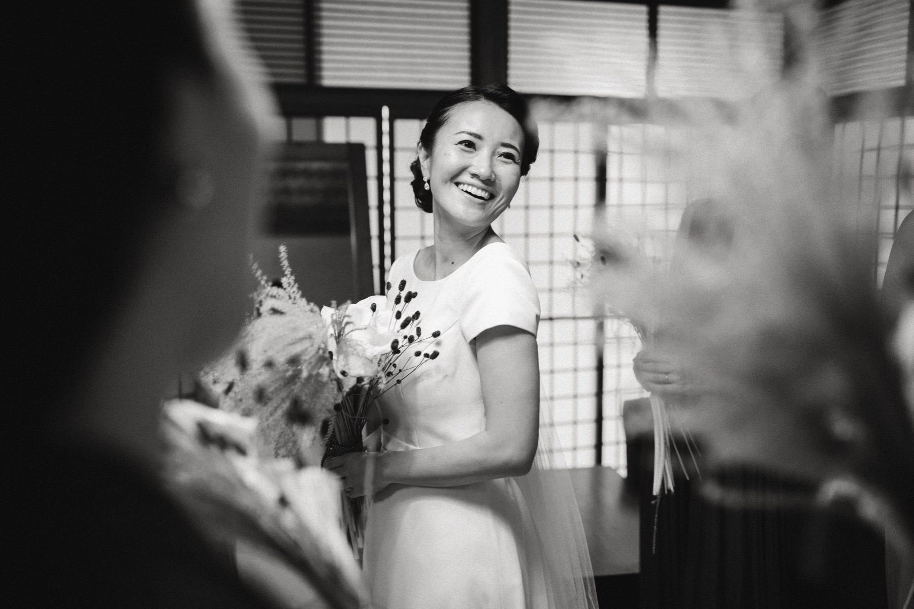 documentary wedding photographer in Japan