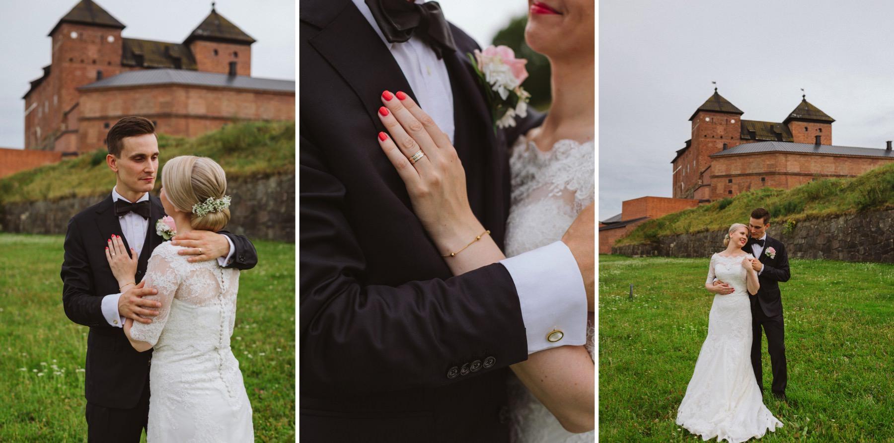 Hämeenlinna wedding photographer