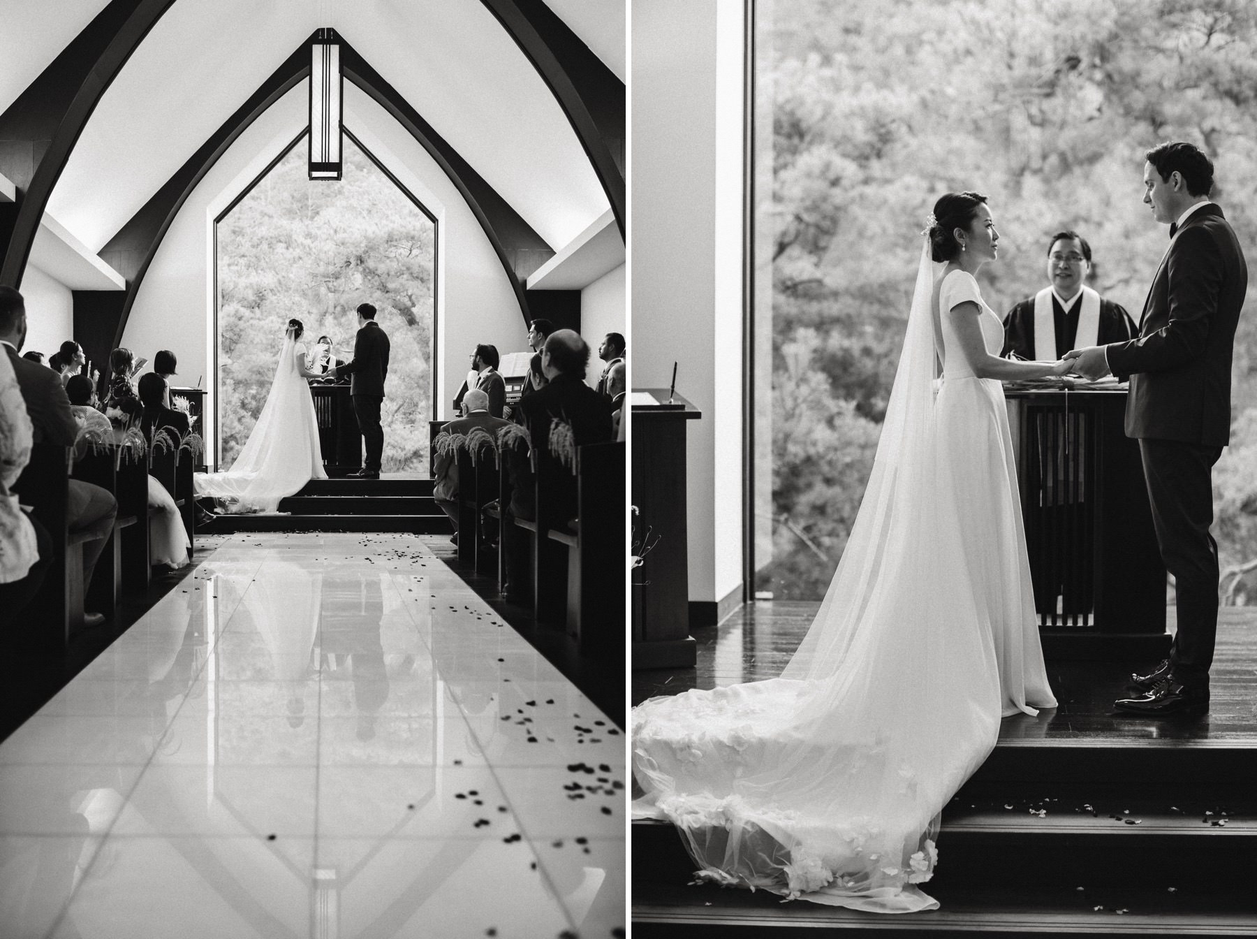 Shozan resort chapel wedding