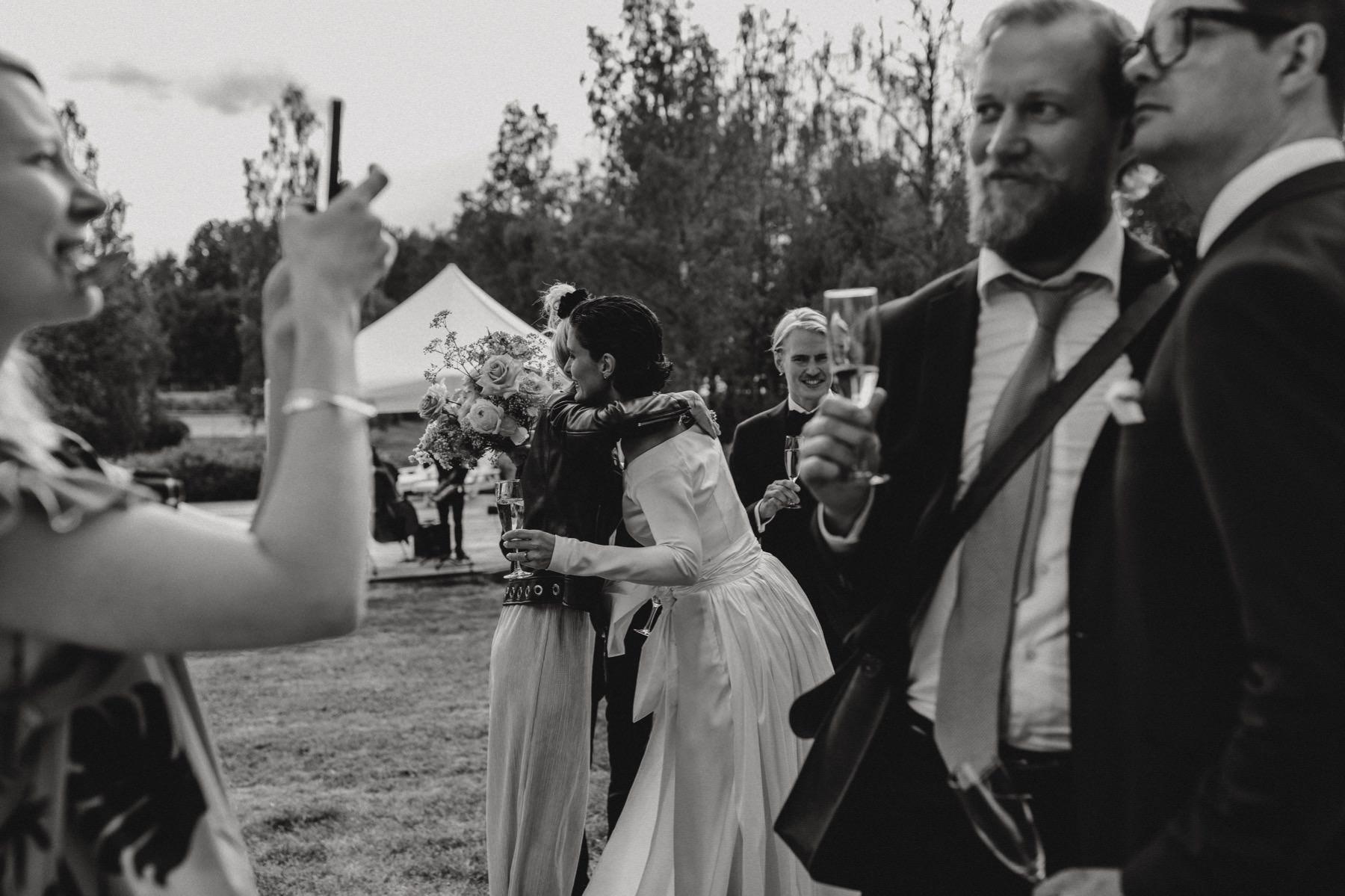 wedding cocktail hour Finland