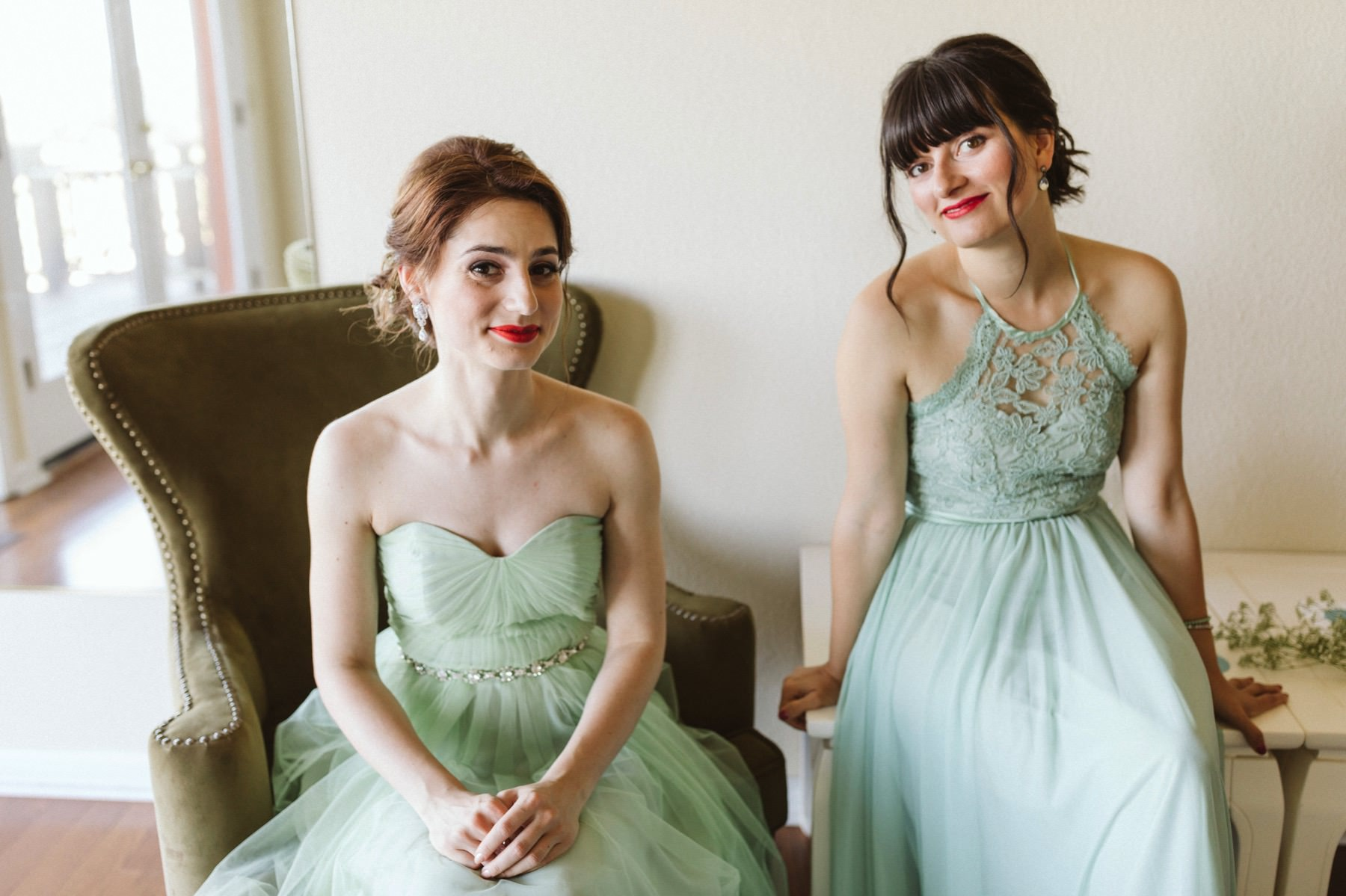 bridesmaids at Fogarty wedding