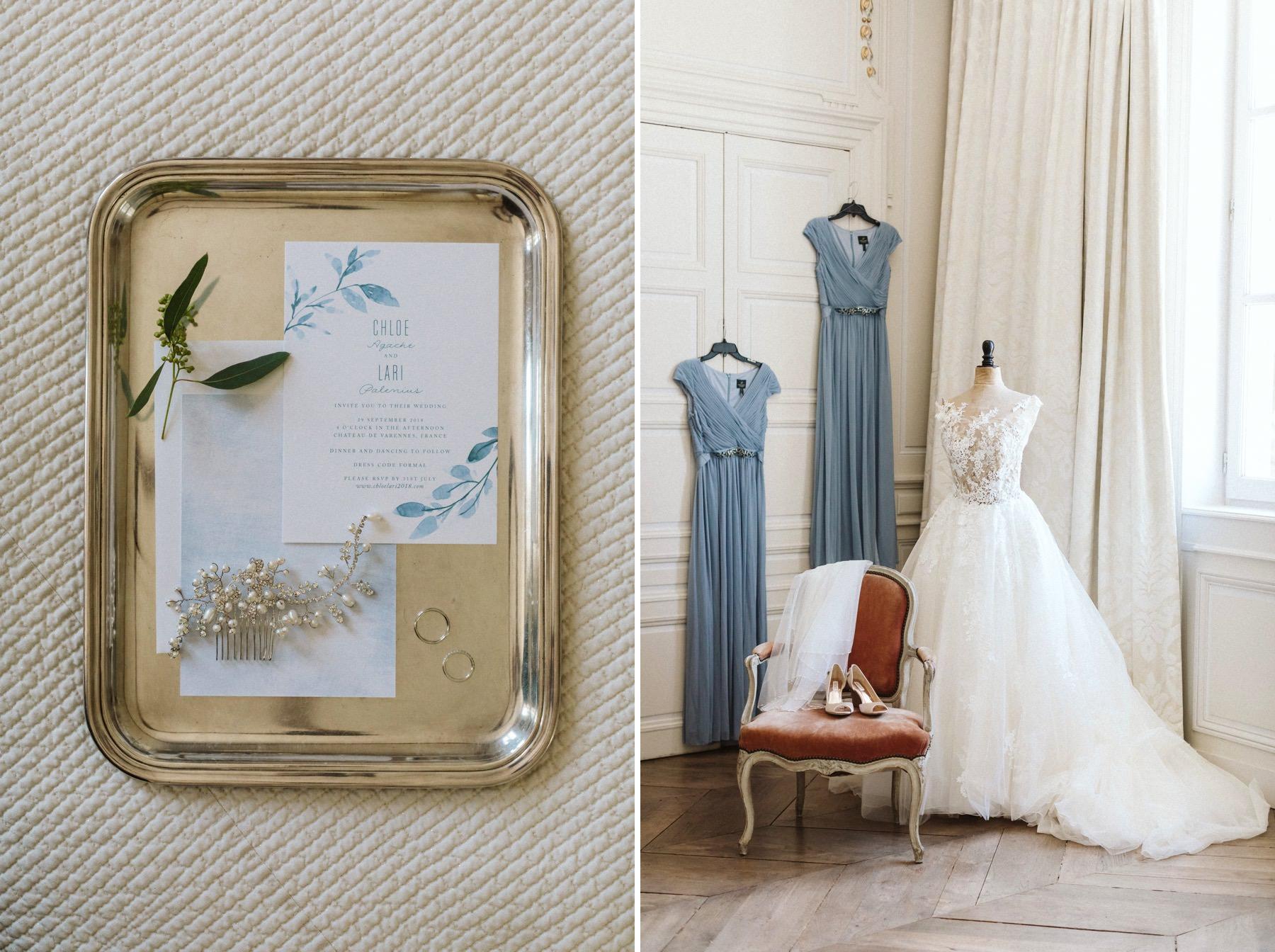 Chateau de Varennes destination wedding