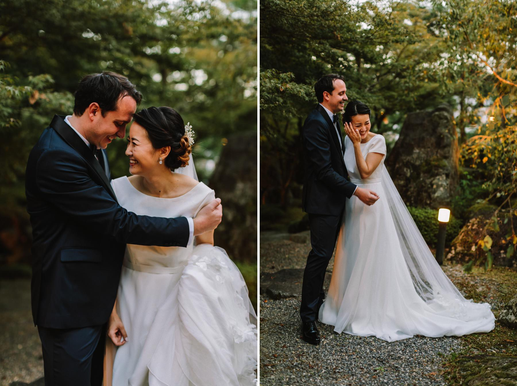 Shozan resort wedding Kyoto
