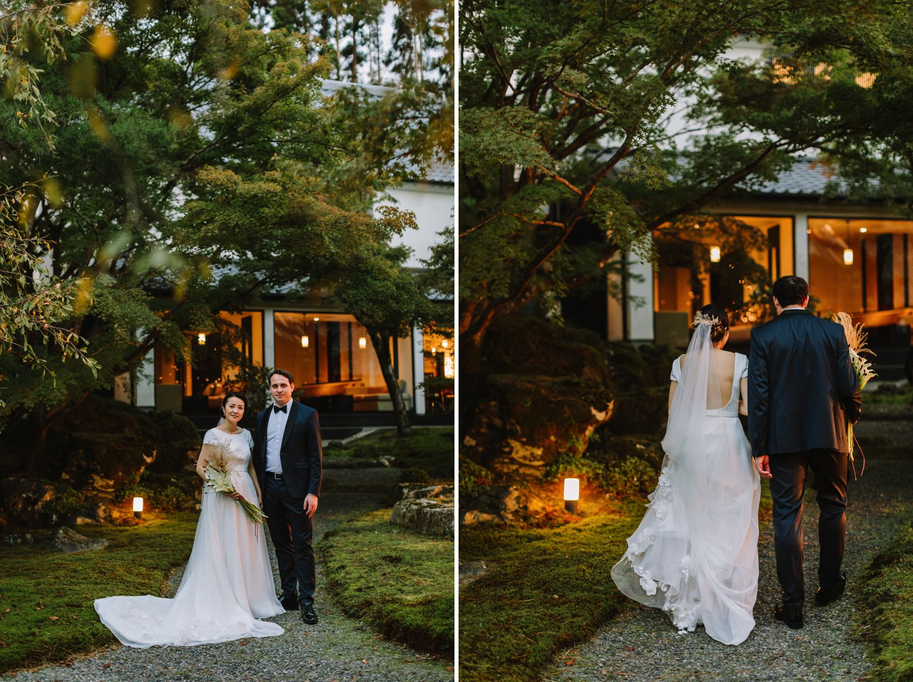 Shozan resort garden wedding Kyoto