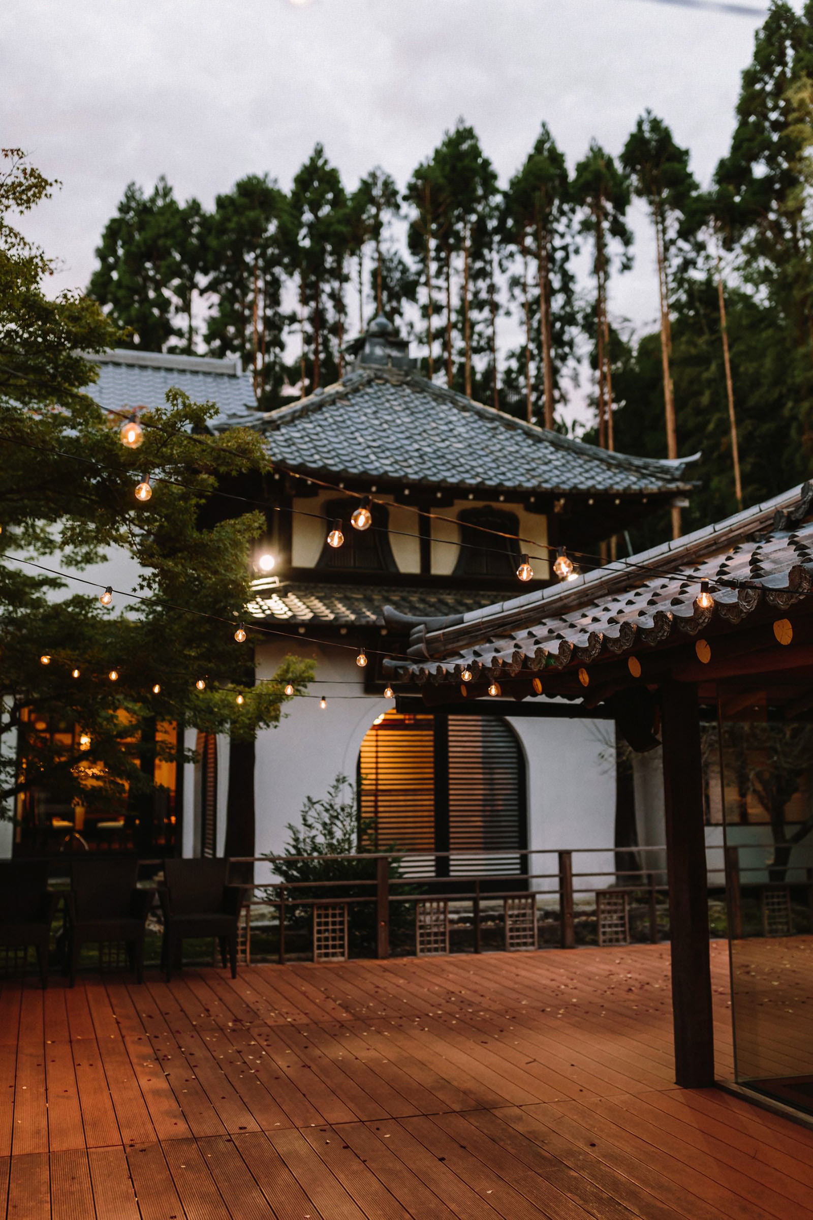 Shozan resort wedding venue Kyoto