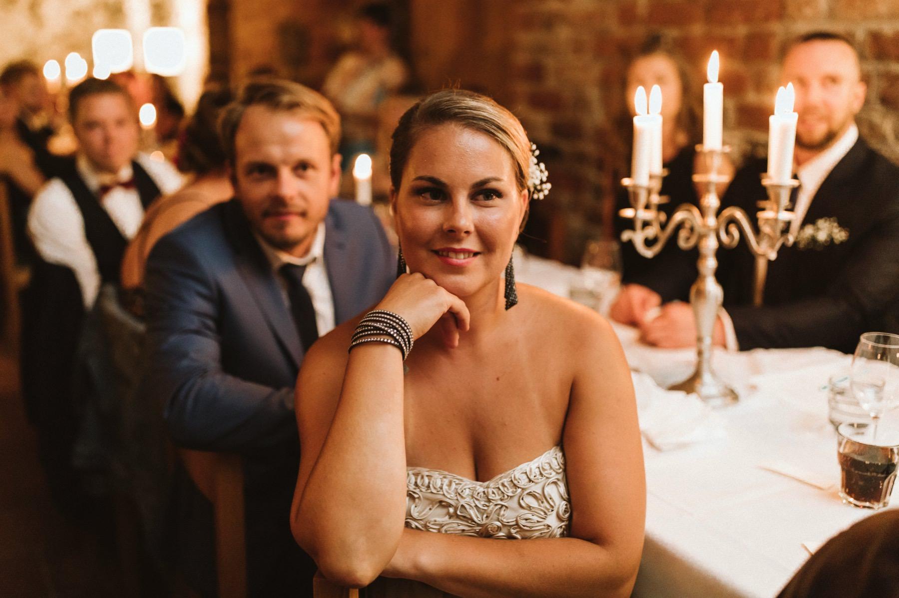 wedding guests castle