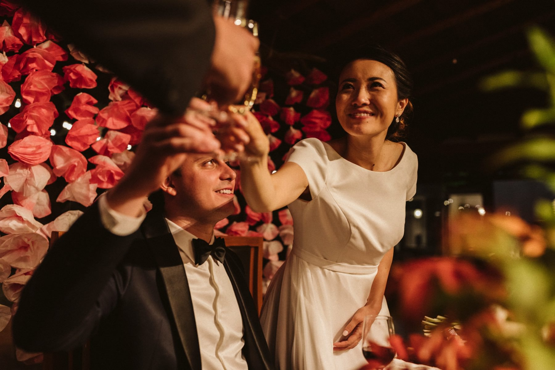 Japanese American wedding in Kyoto