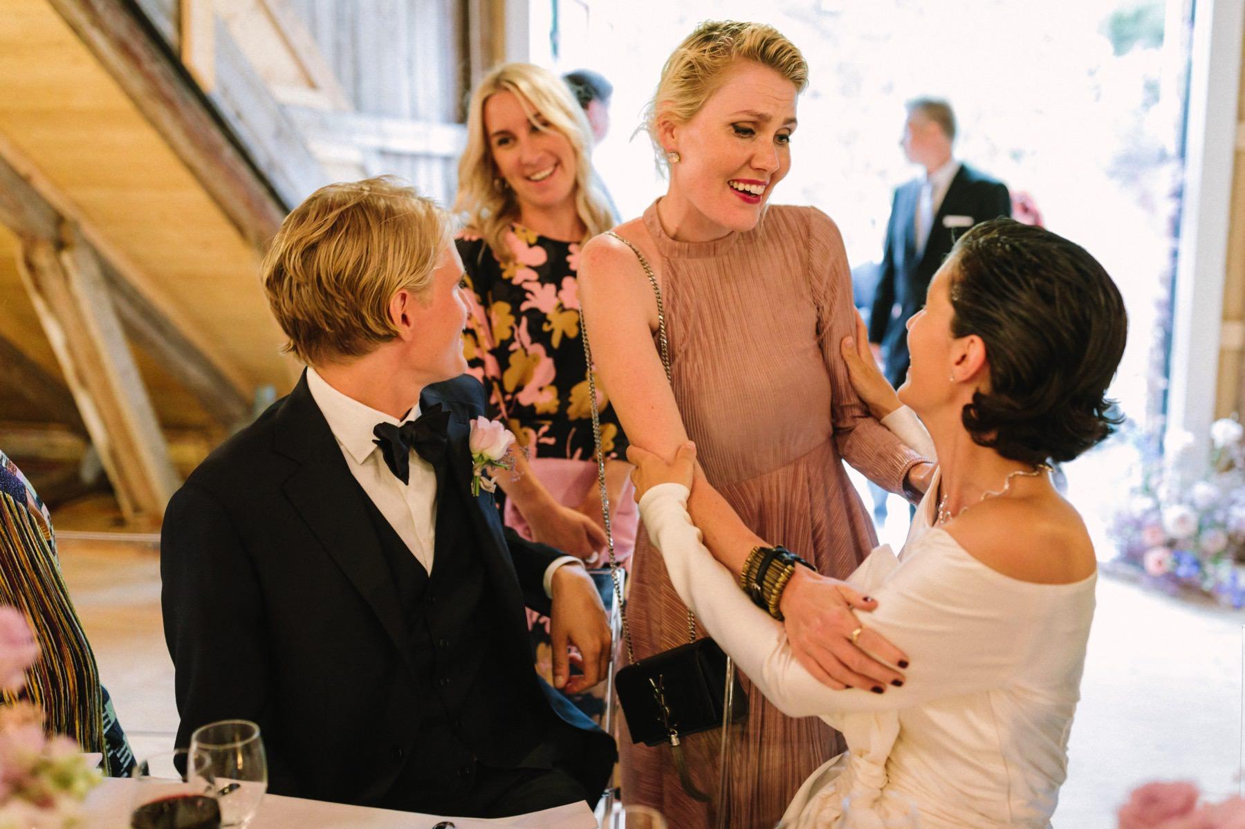Finnish barn wedding