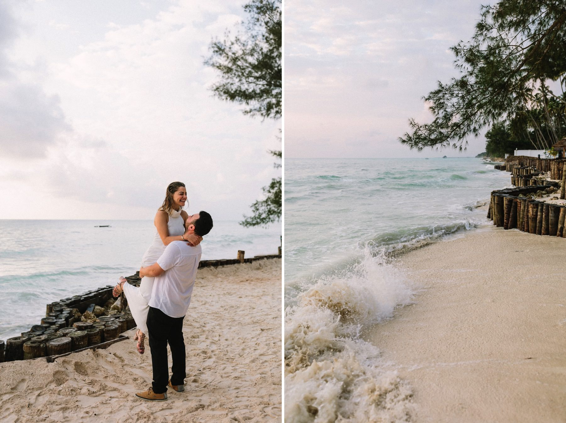 Zanzibar prewedding photosession