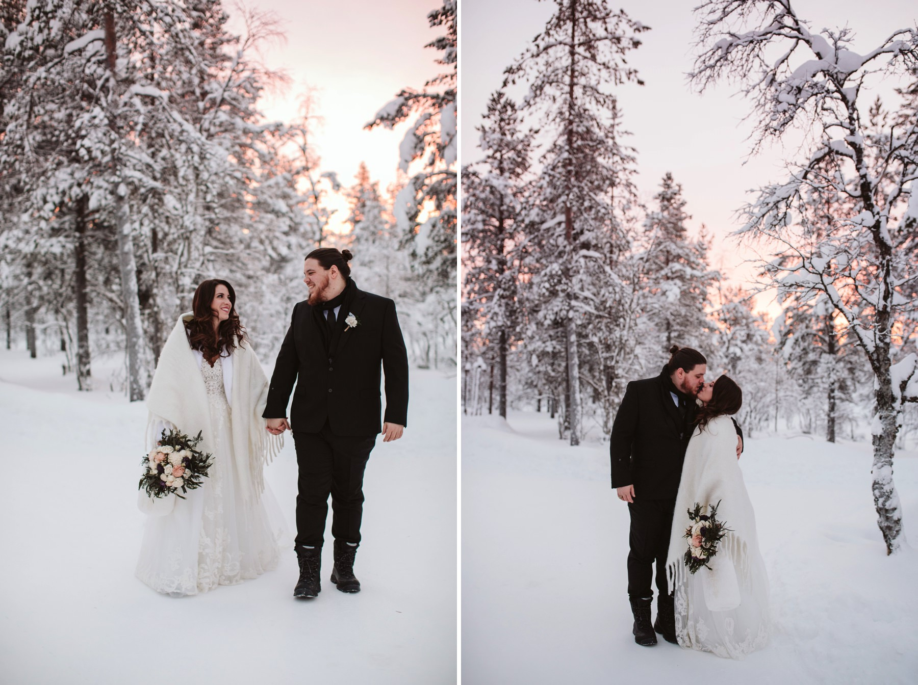 best wedding photographer Lapland
