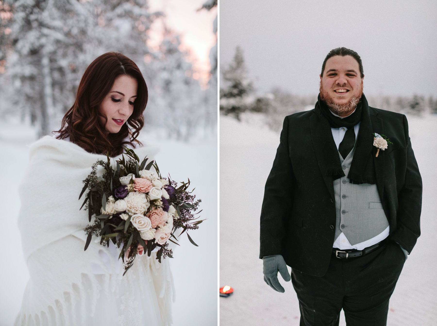 wedding planning in Lapland
