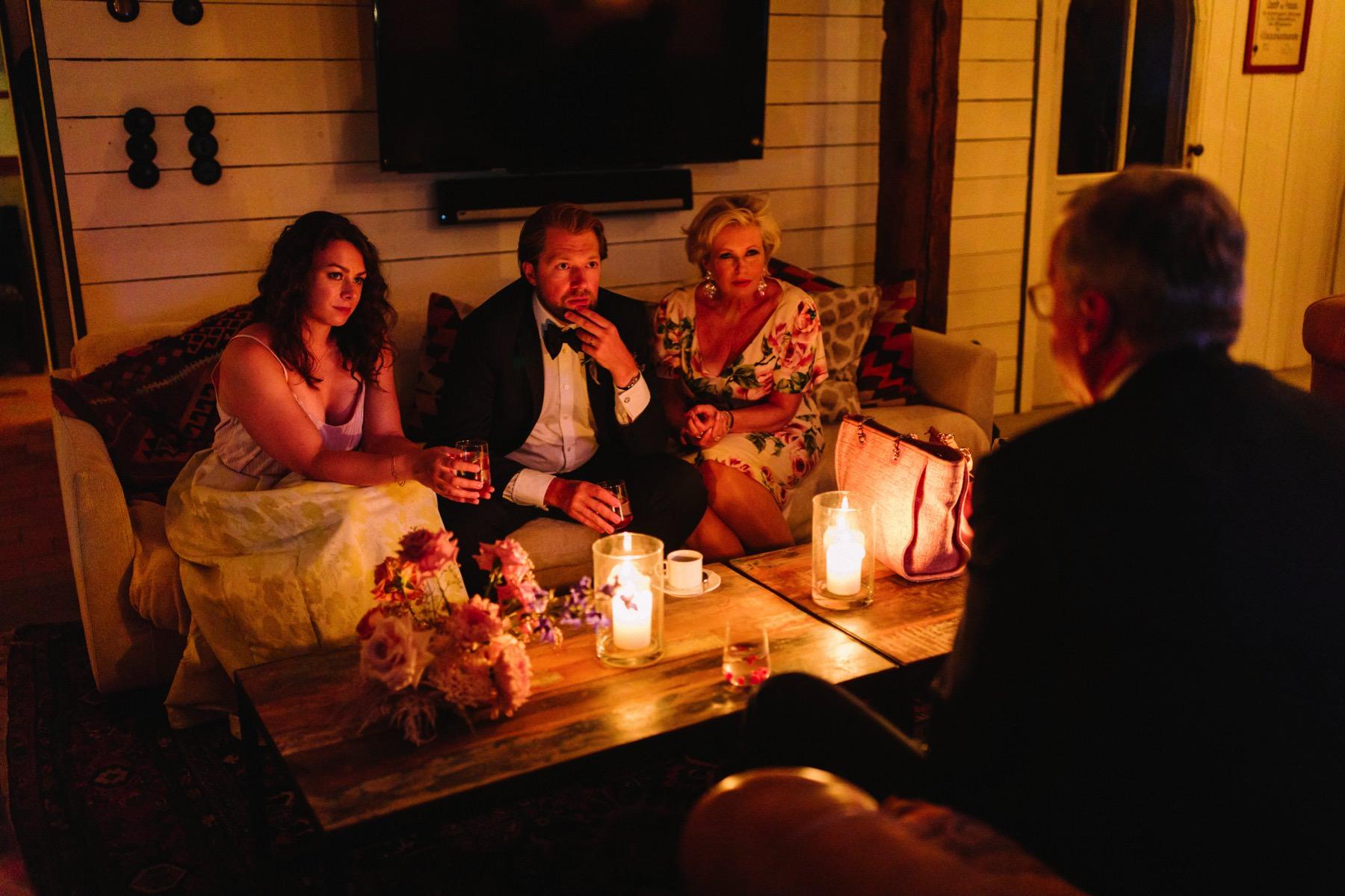 wedding night atmosphere