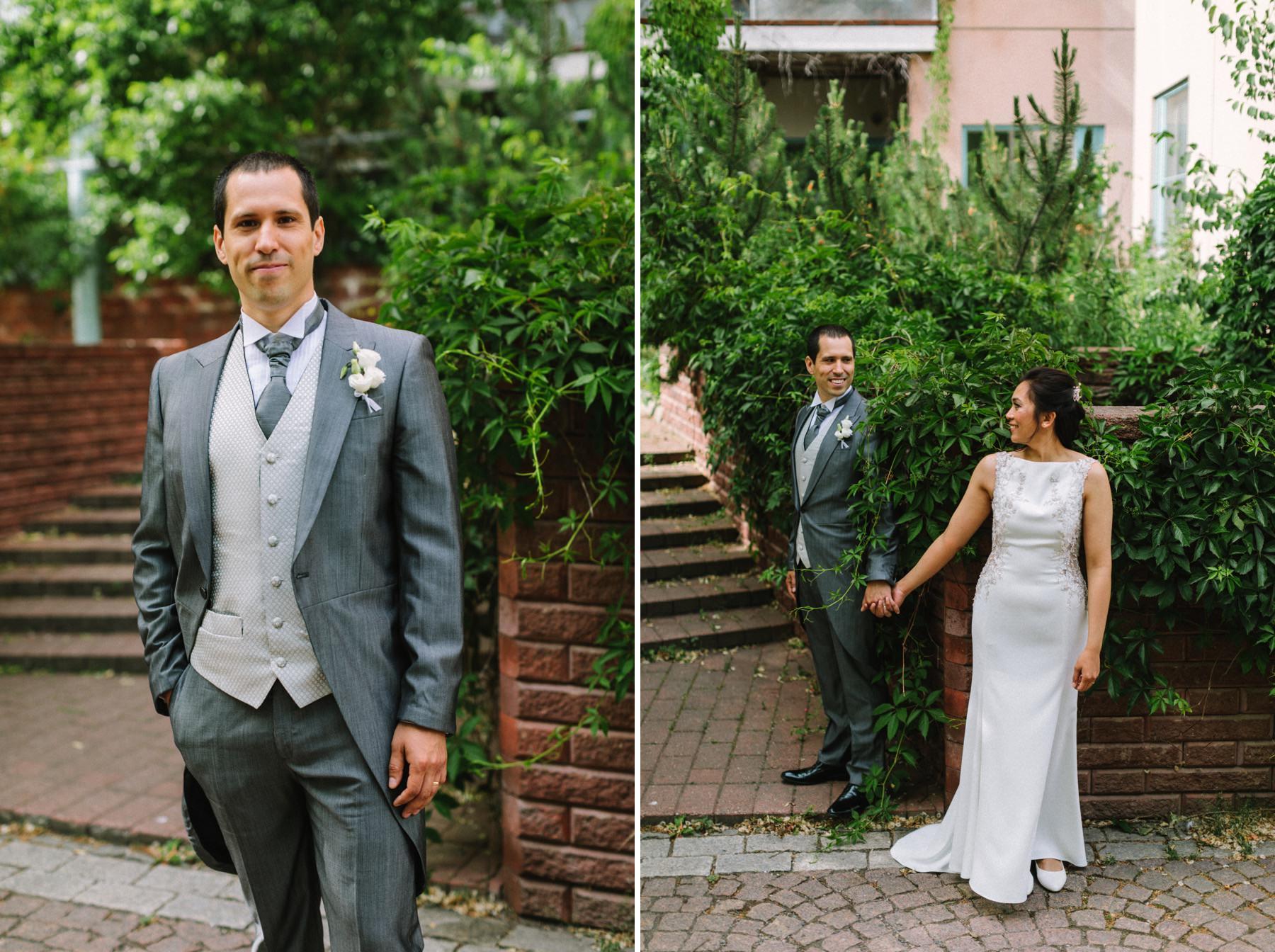 Helsinki urban wedding
