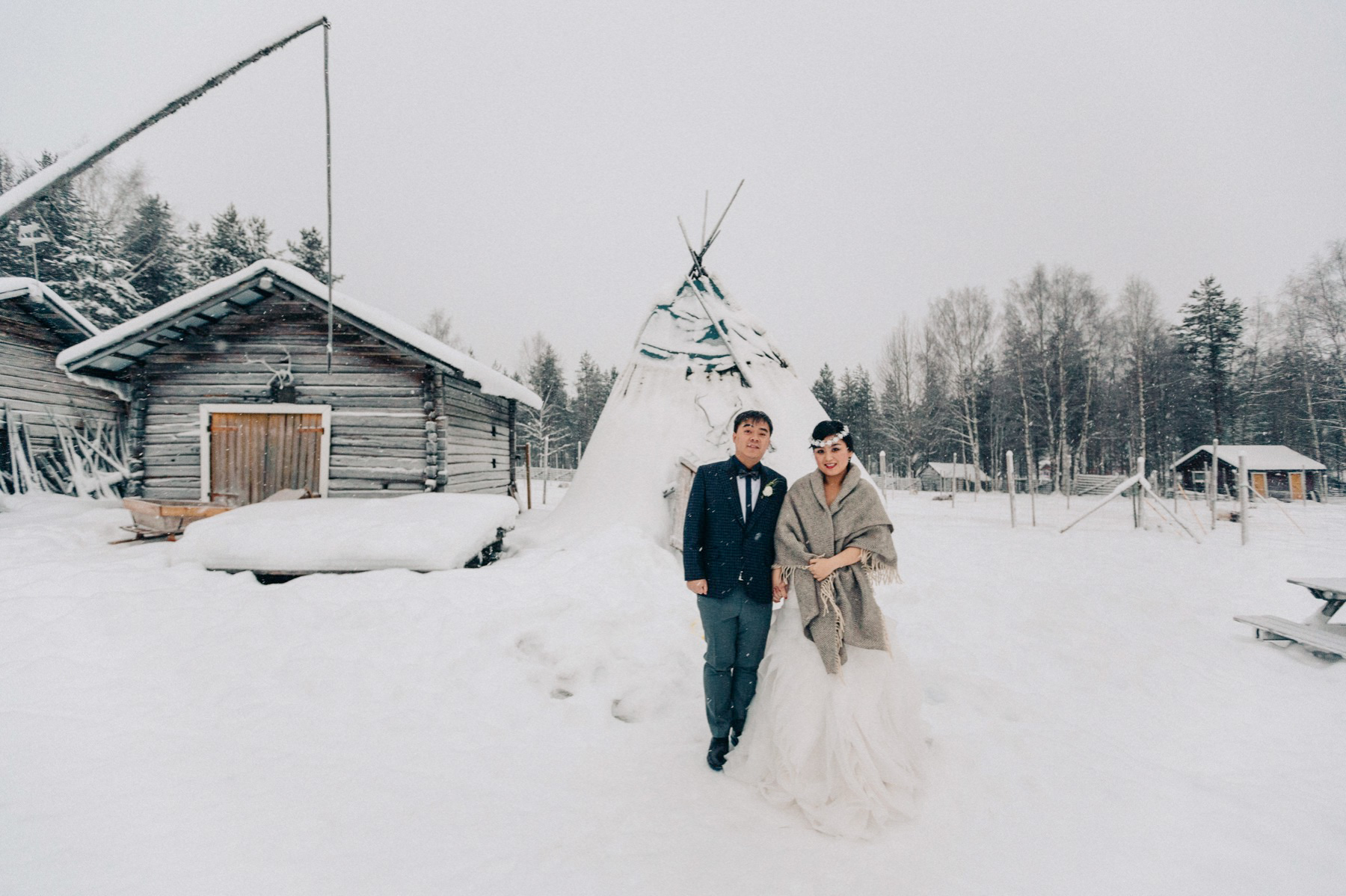 Lapland Pre Wedding Session