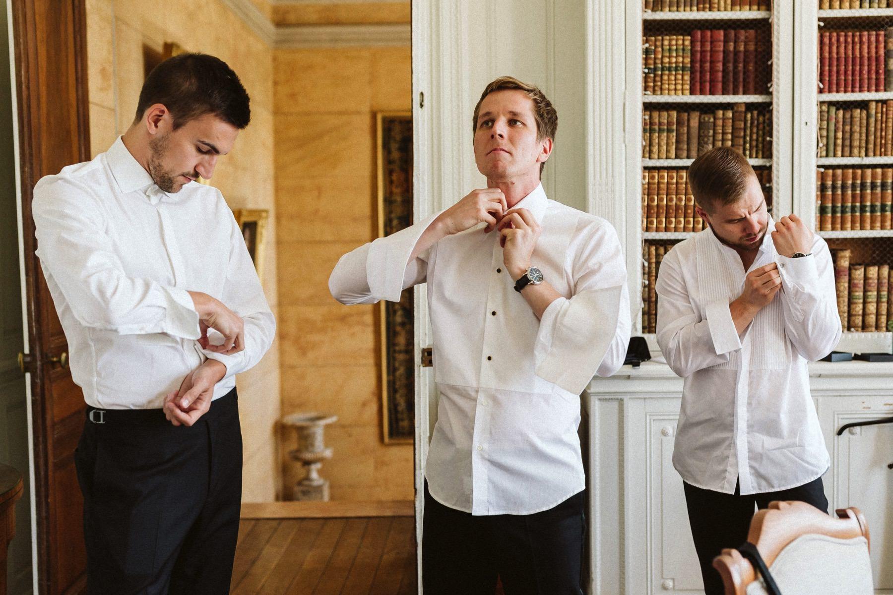 international wedding in Burgundy
