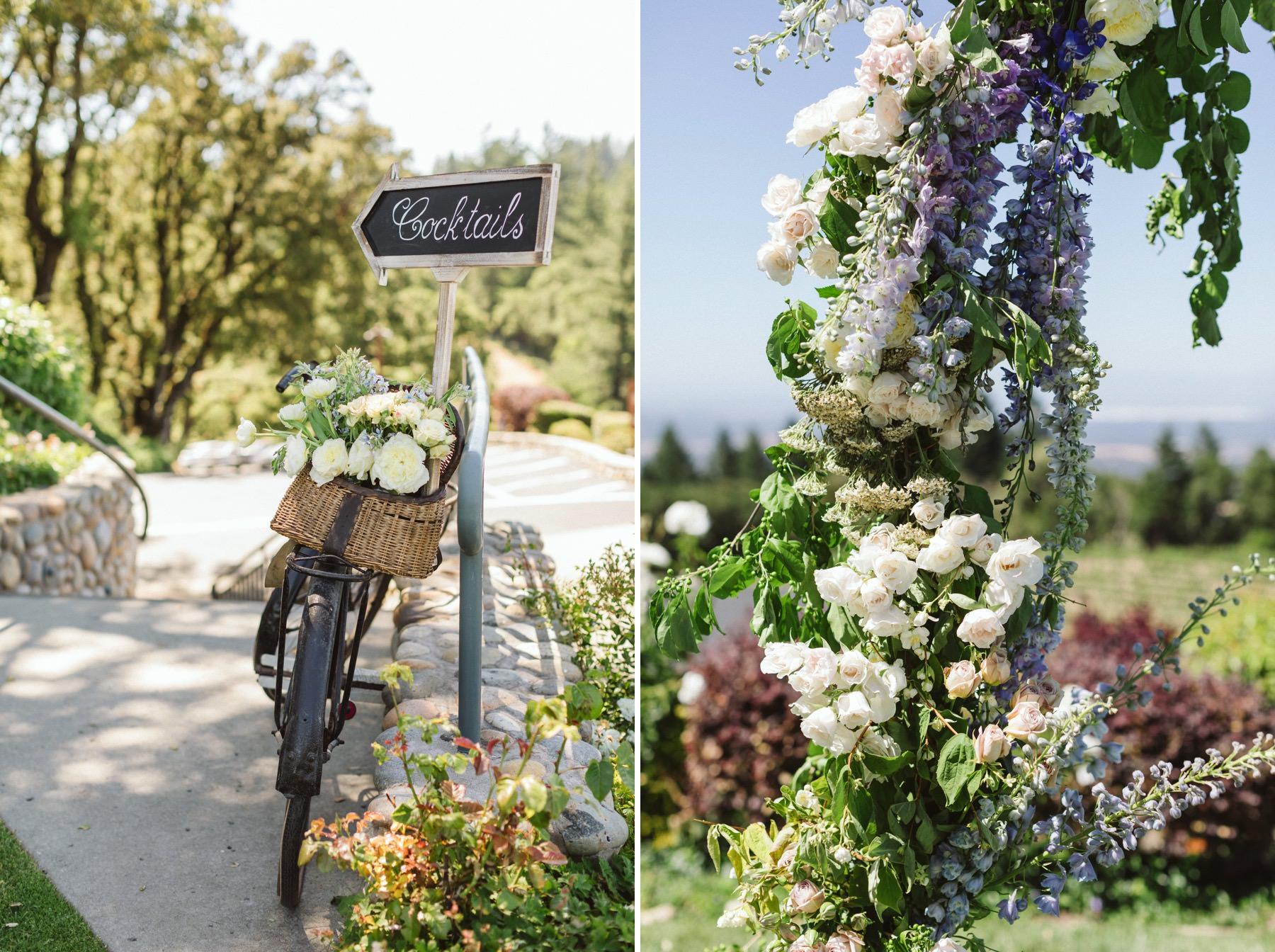 Thomas Fogarty winery wedding inspiration