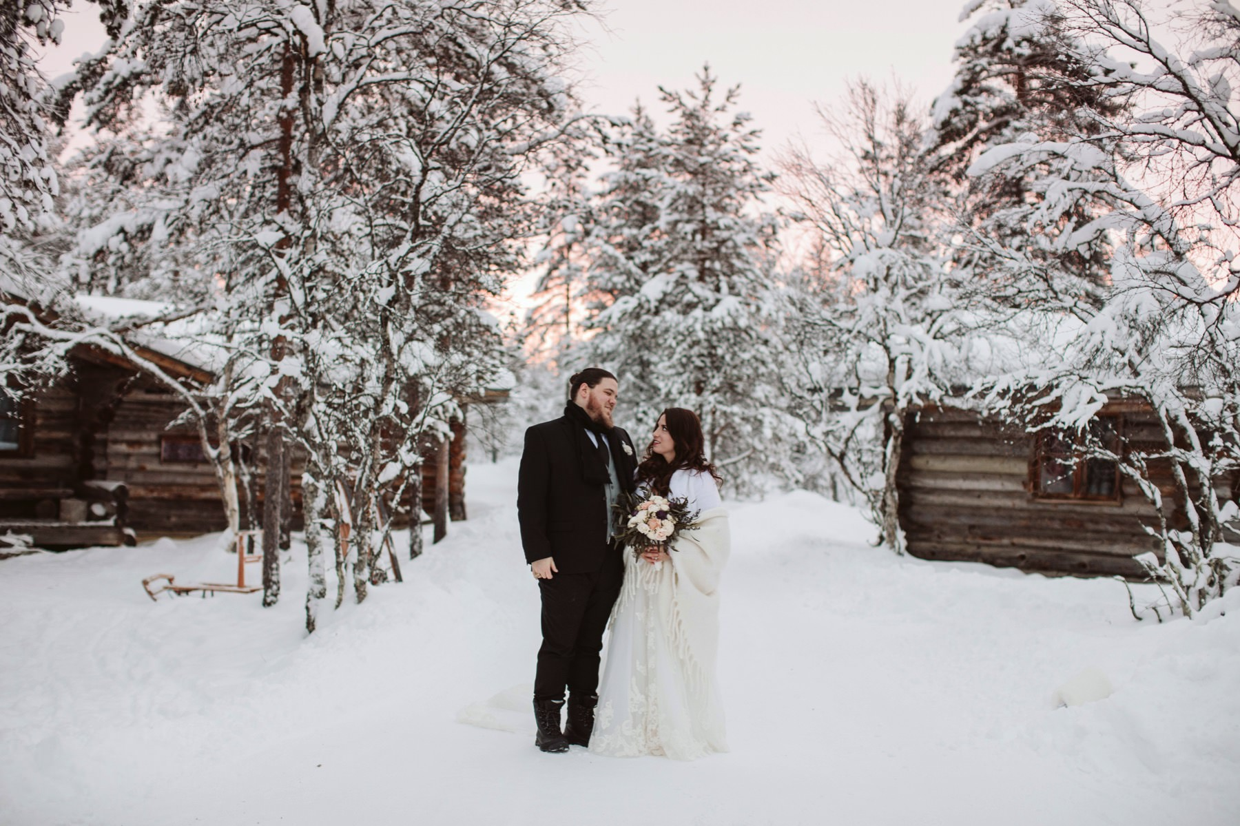 arctic resort wedding photographer