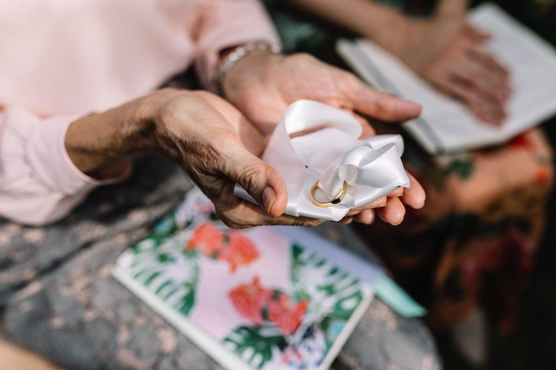 wedding rings ceremony