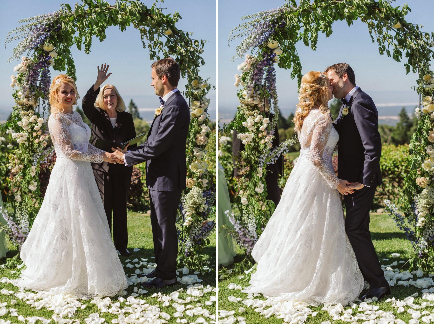 Thomas Fogarty wedding ceremony