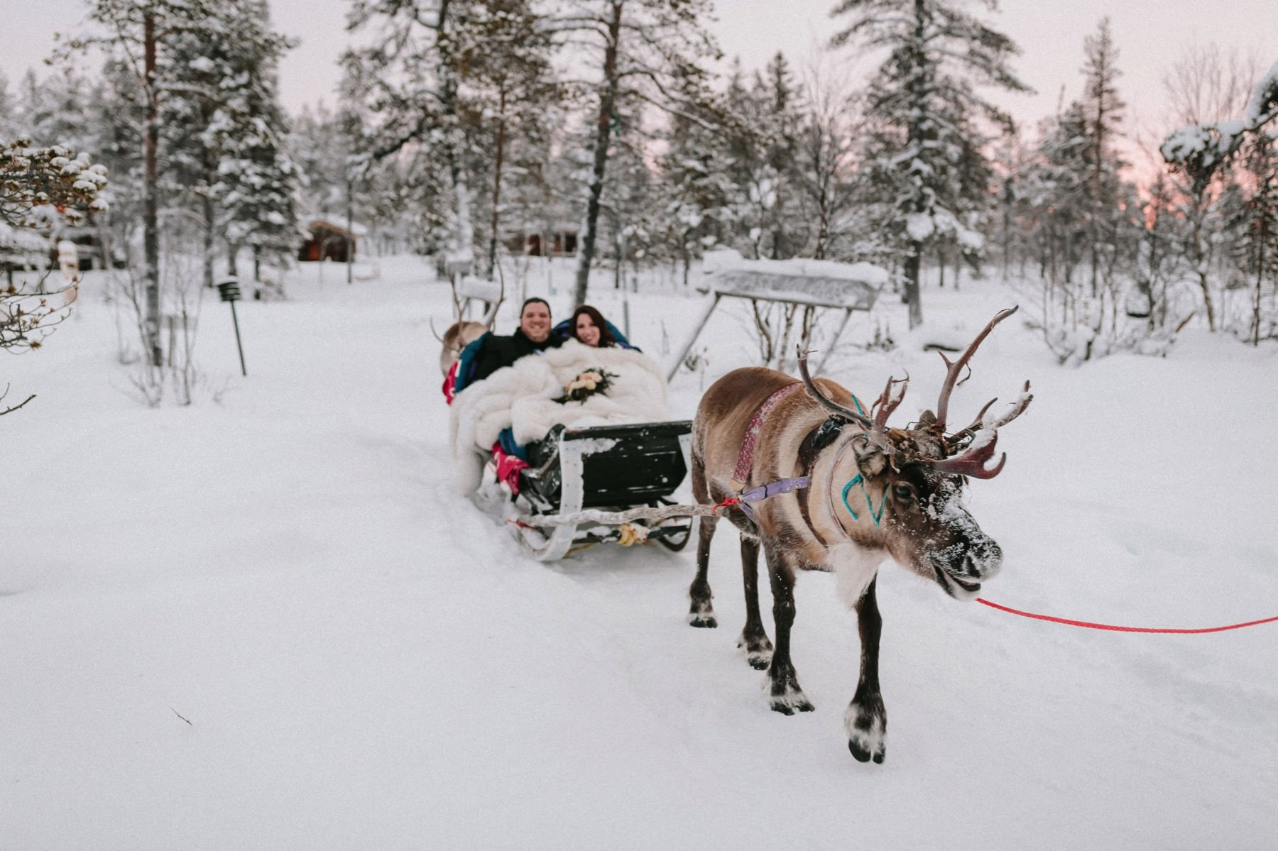 wedding in Lapland