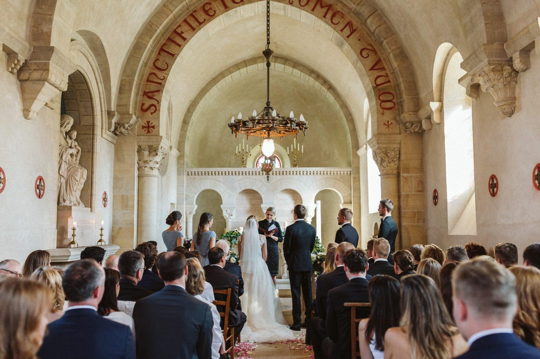 best chapel wedding in France