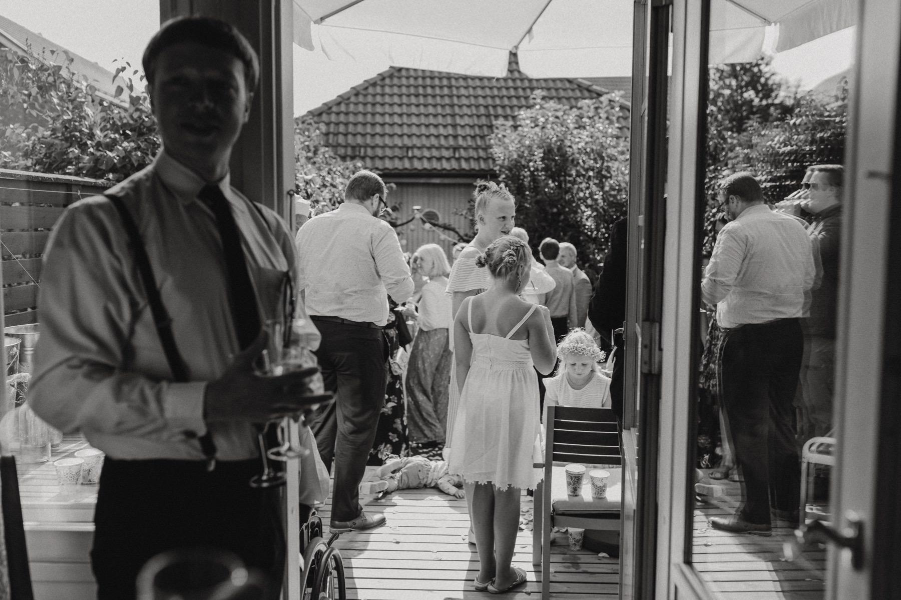 home wedding