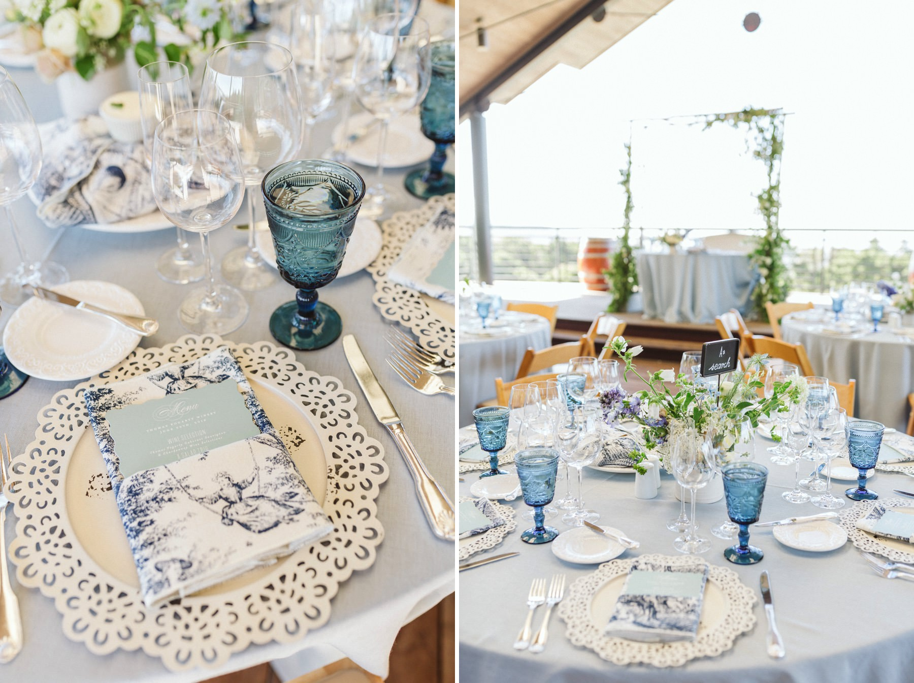Thomas Fogarty wedding styling