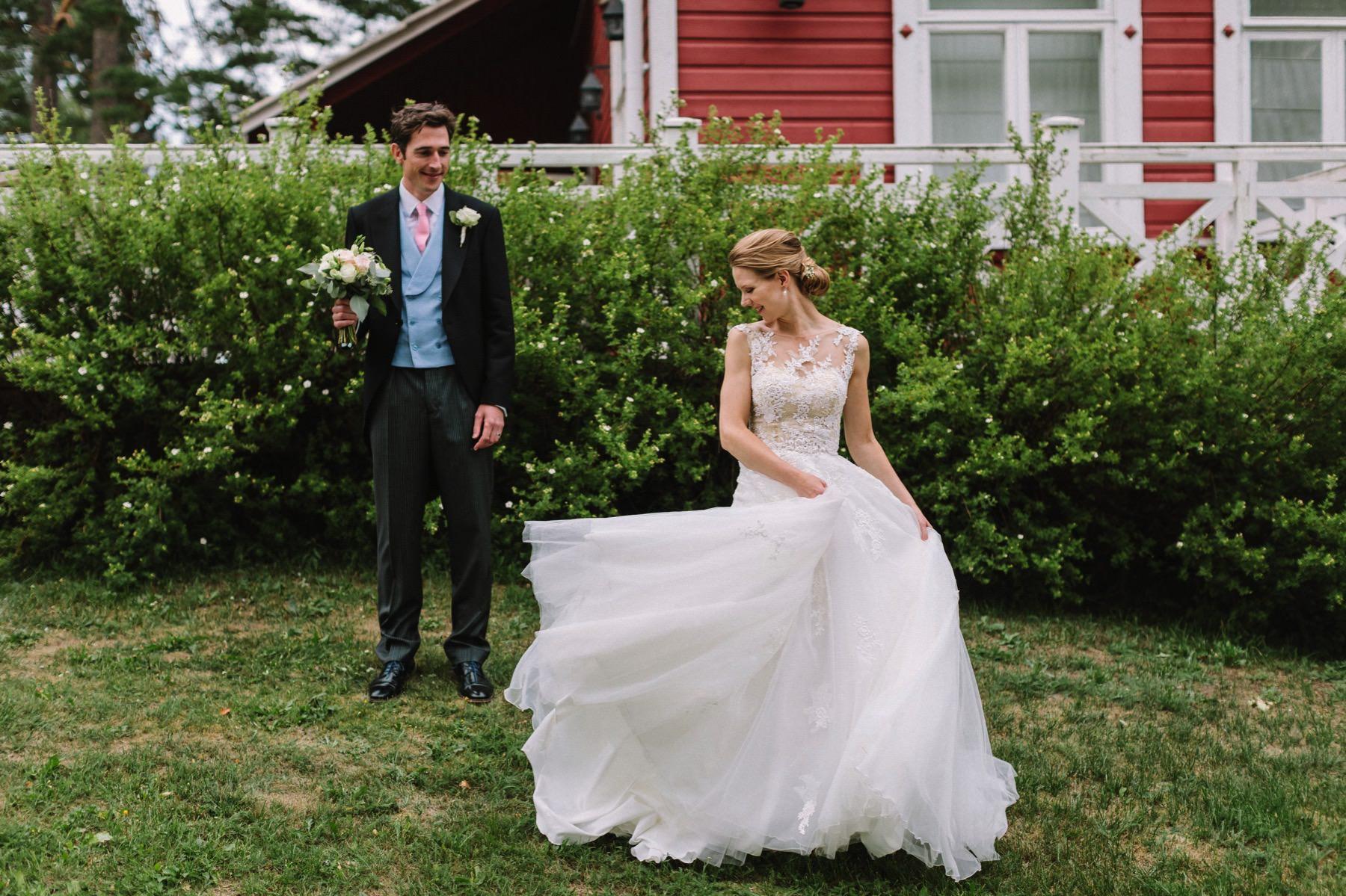 bröllopsfotograf Finland