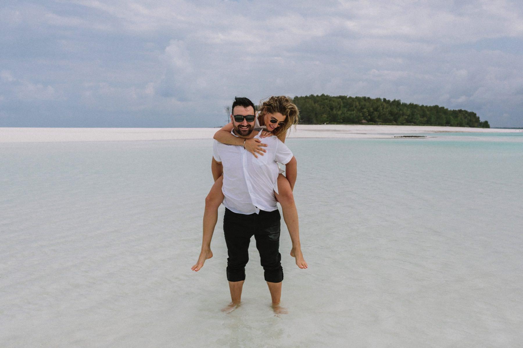 Mnemba island wedding Zanzibar