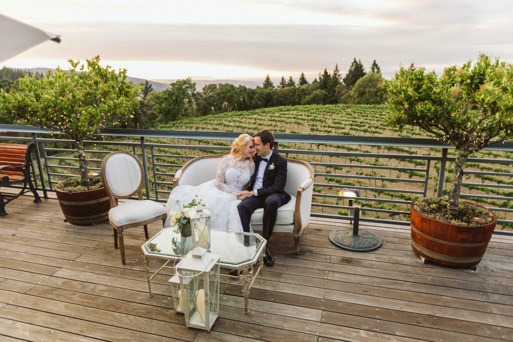north California vineyard wedding
