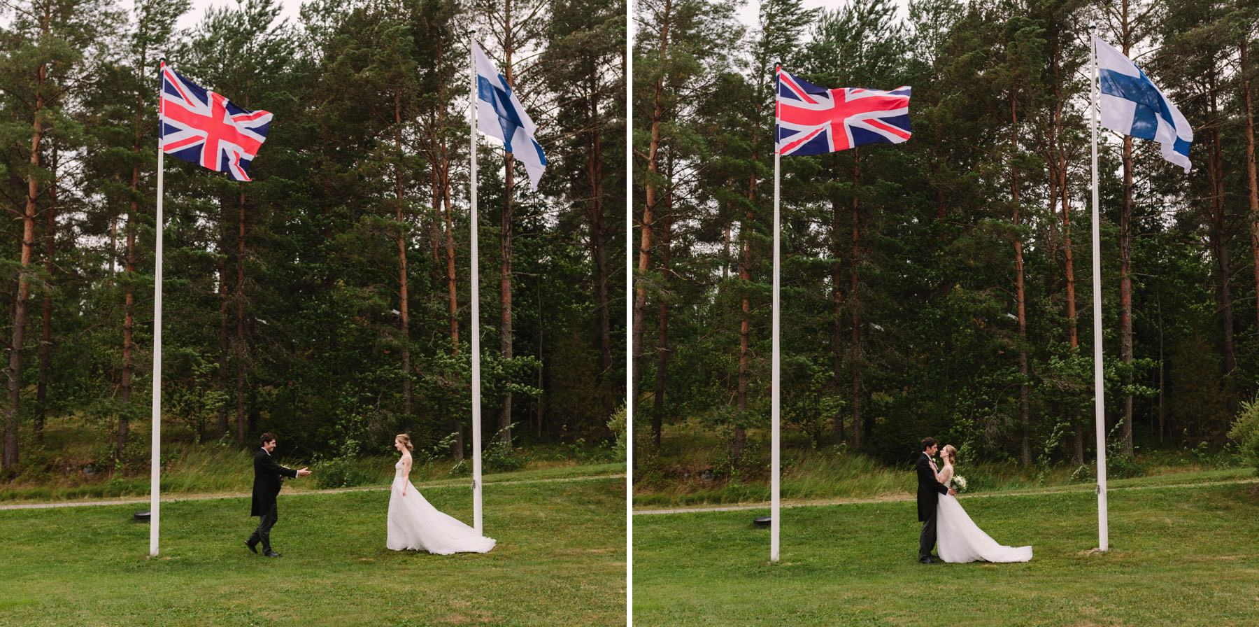 Finnish British wedding