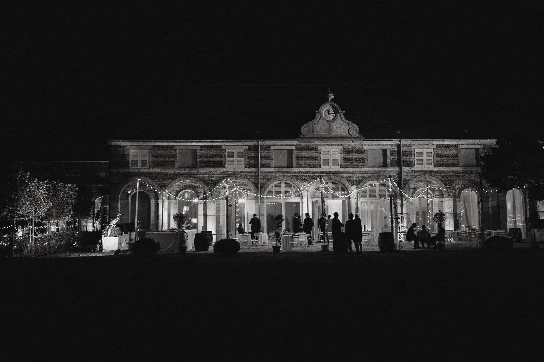 Chateau de Varennes night