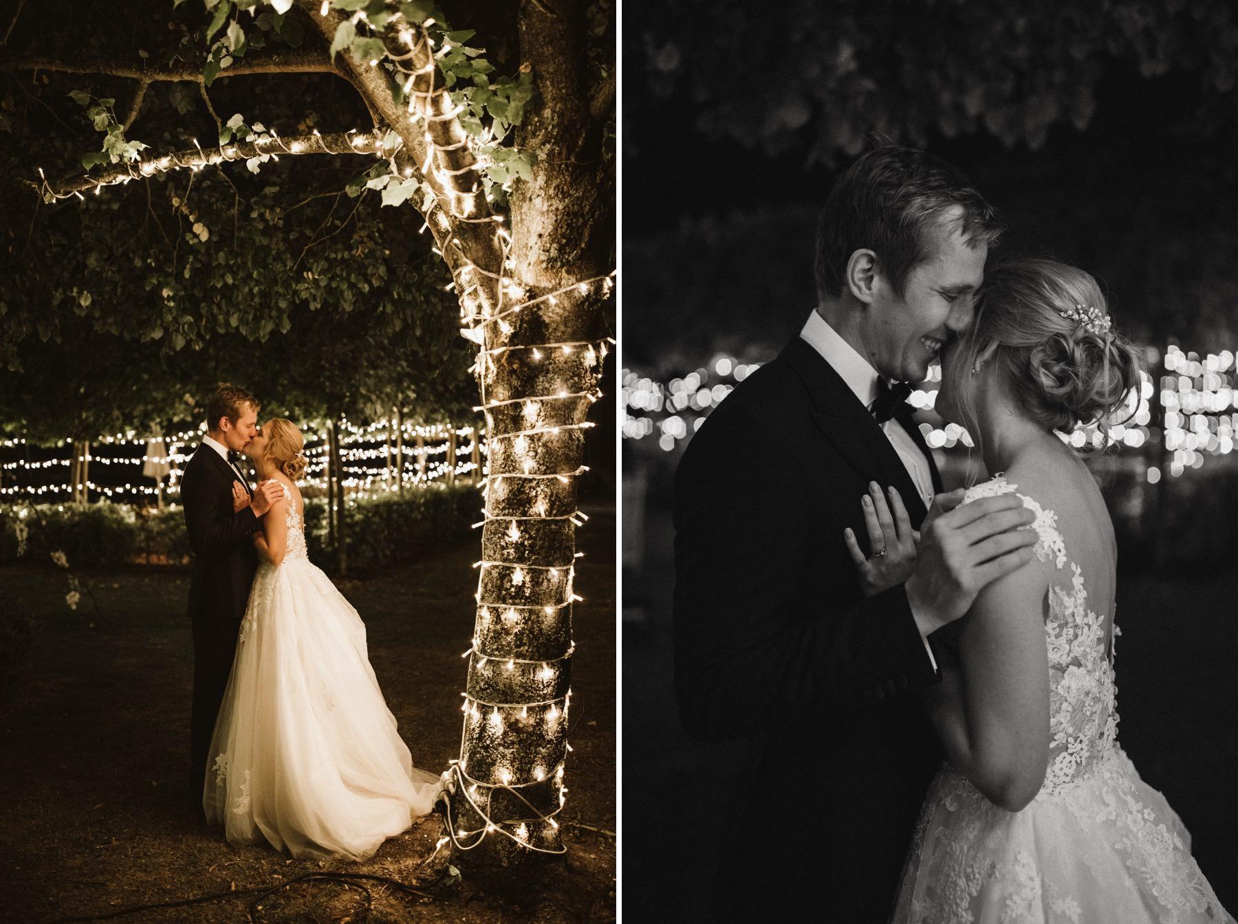 night wedding in France