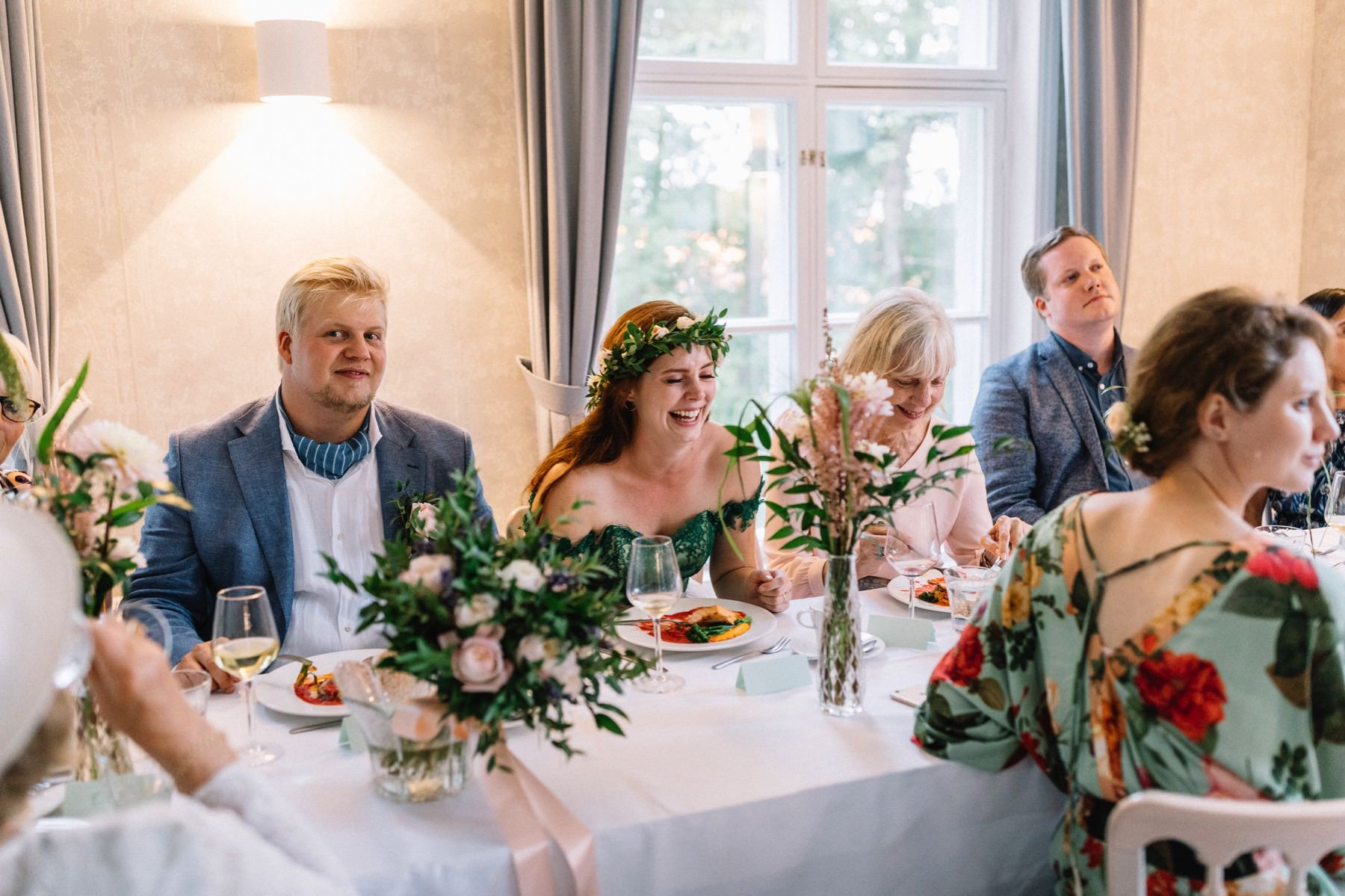 ravintola Backaksessa wedding