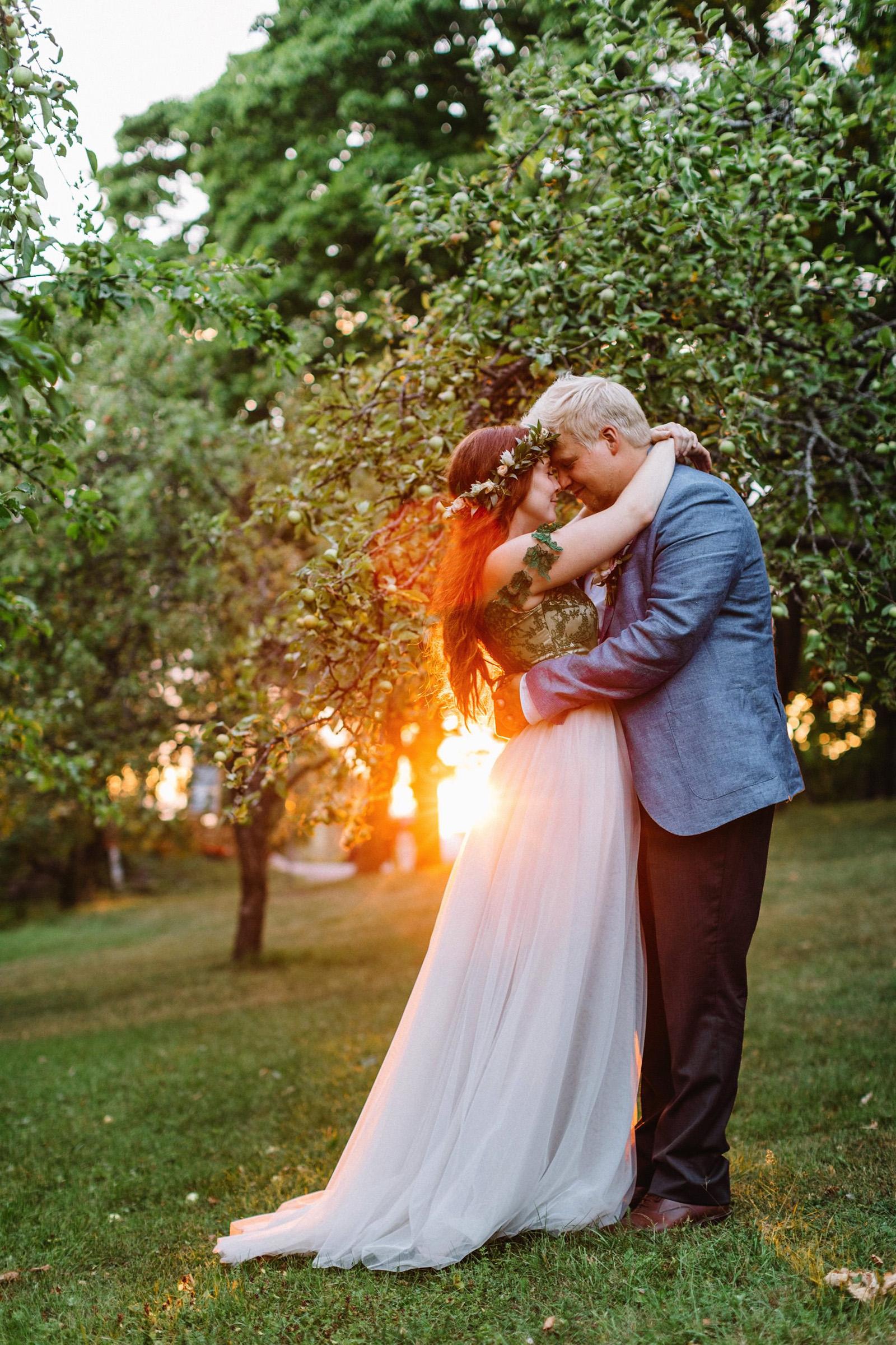 Finnish American Wedding