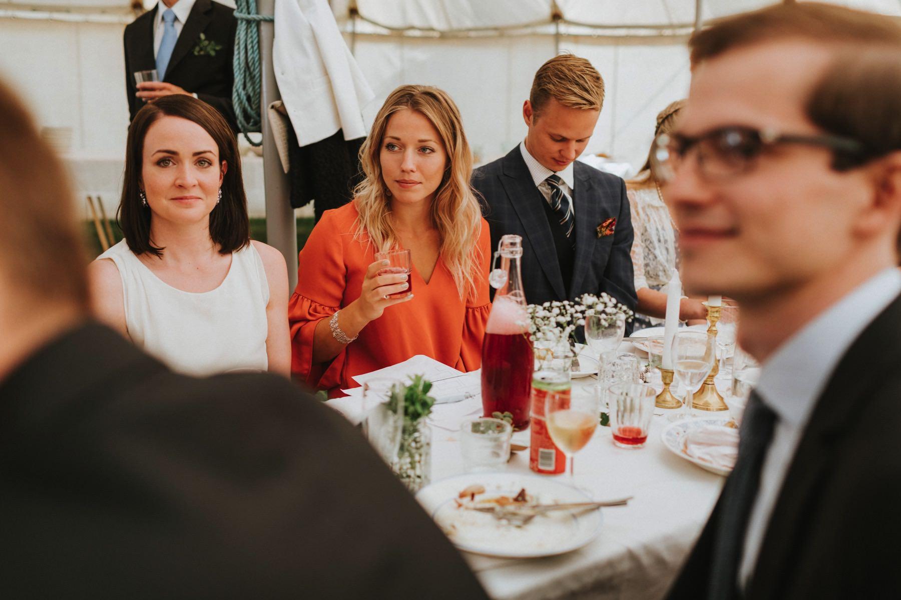 Kronoby bröllop i tält