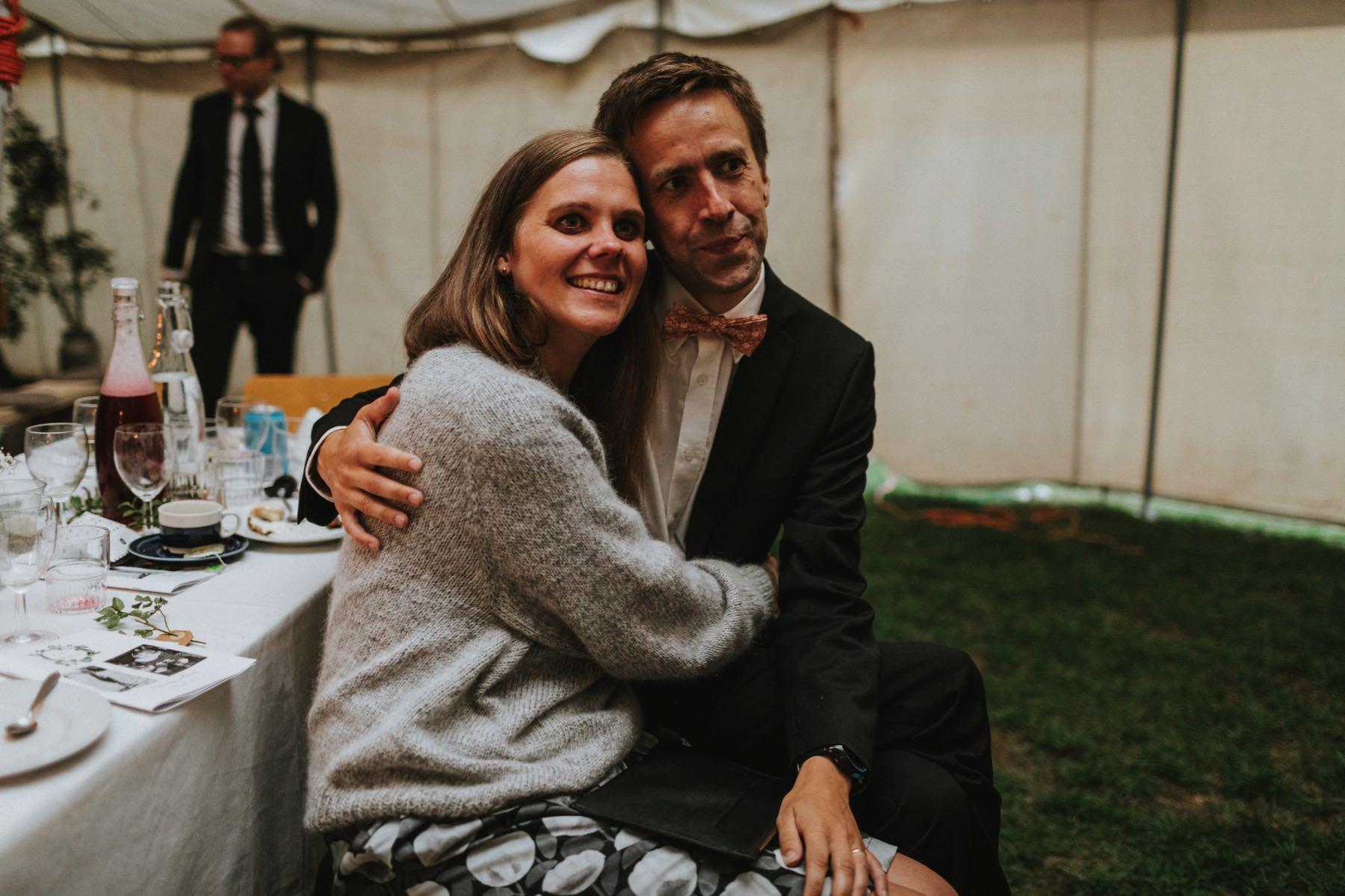 bröllop i tält