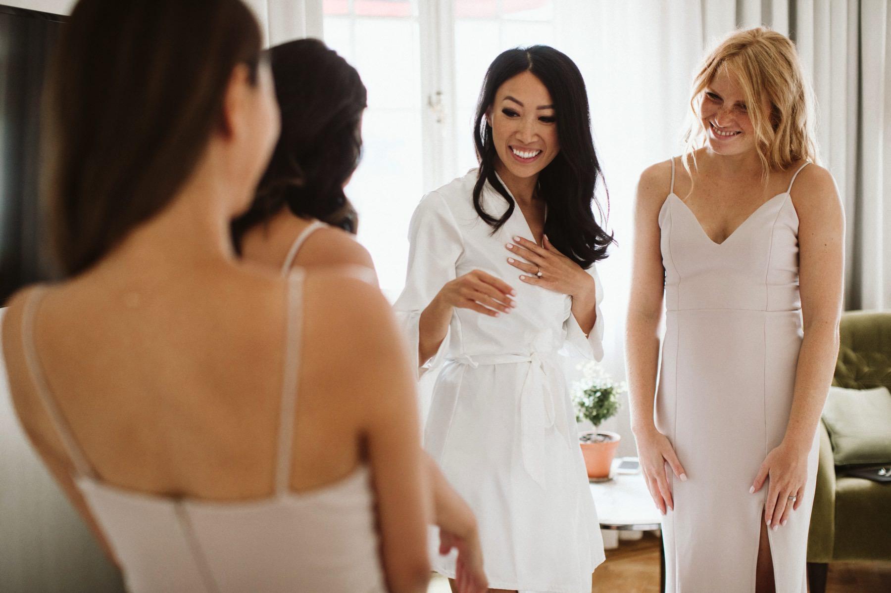 bridesmaids in Sweden