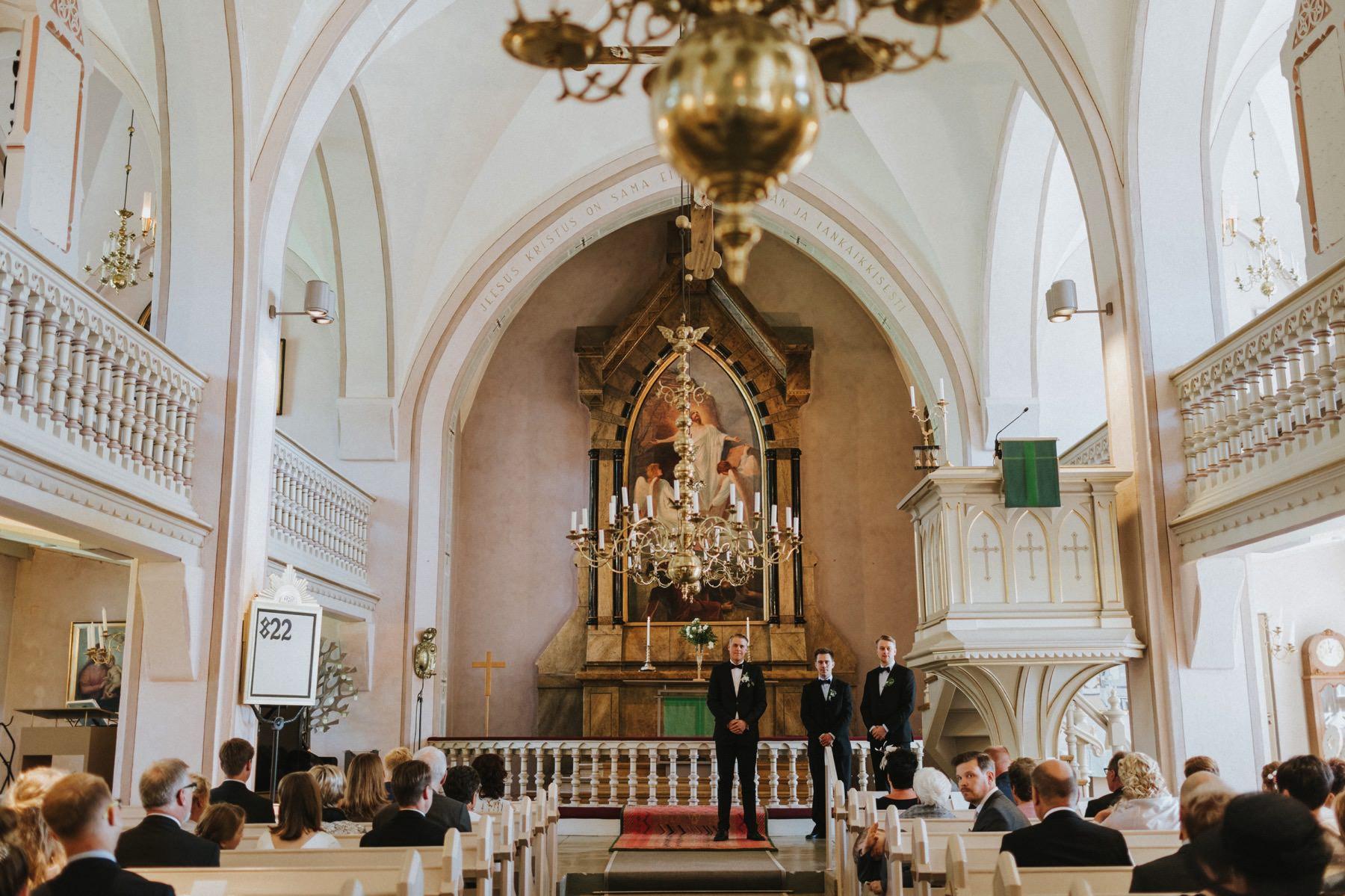 Euran kirkko häät