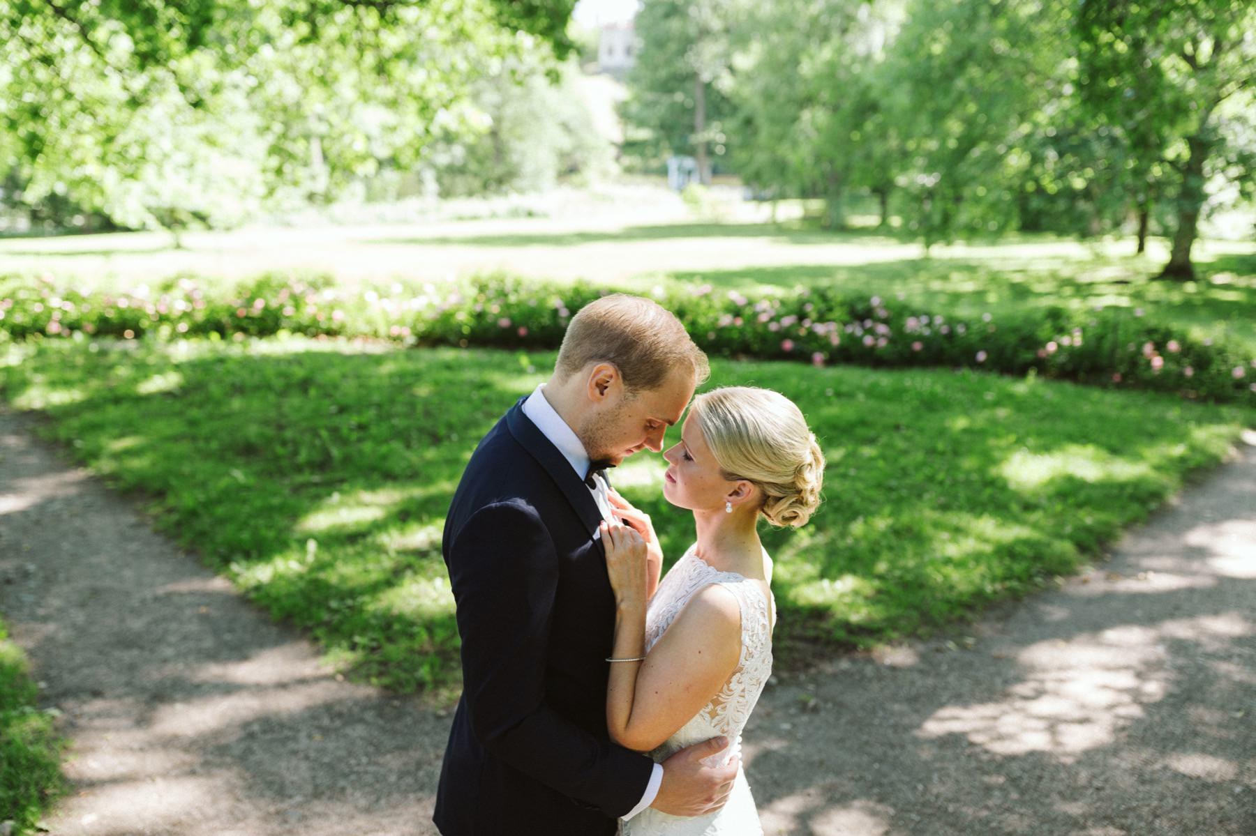 Mustion Linna wedding