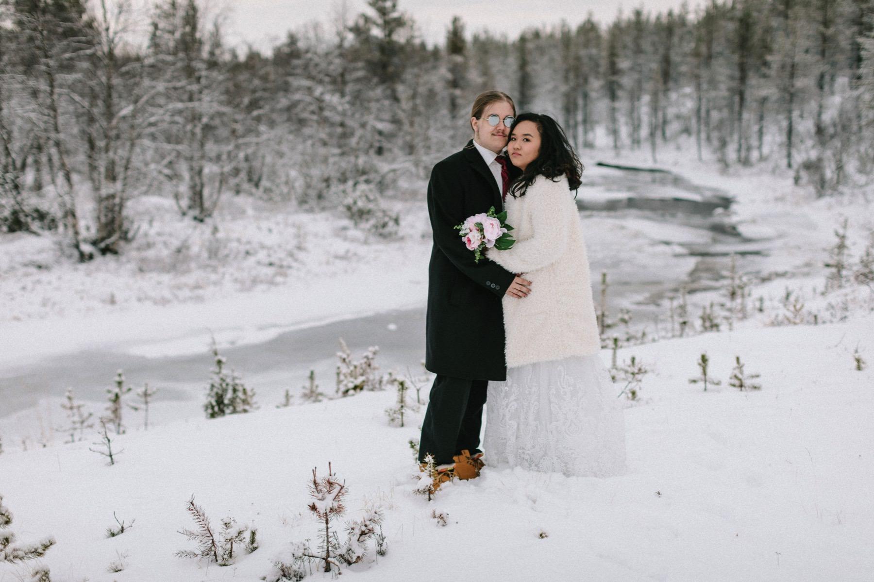 Lapland wedding photographer