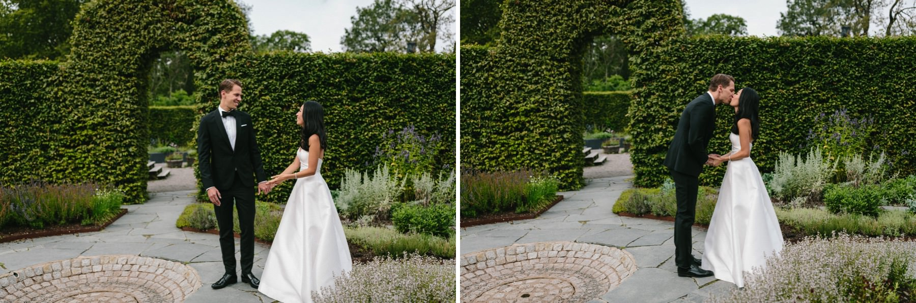 Stockholm international wedding