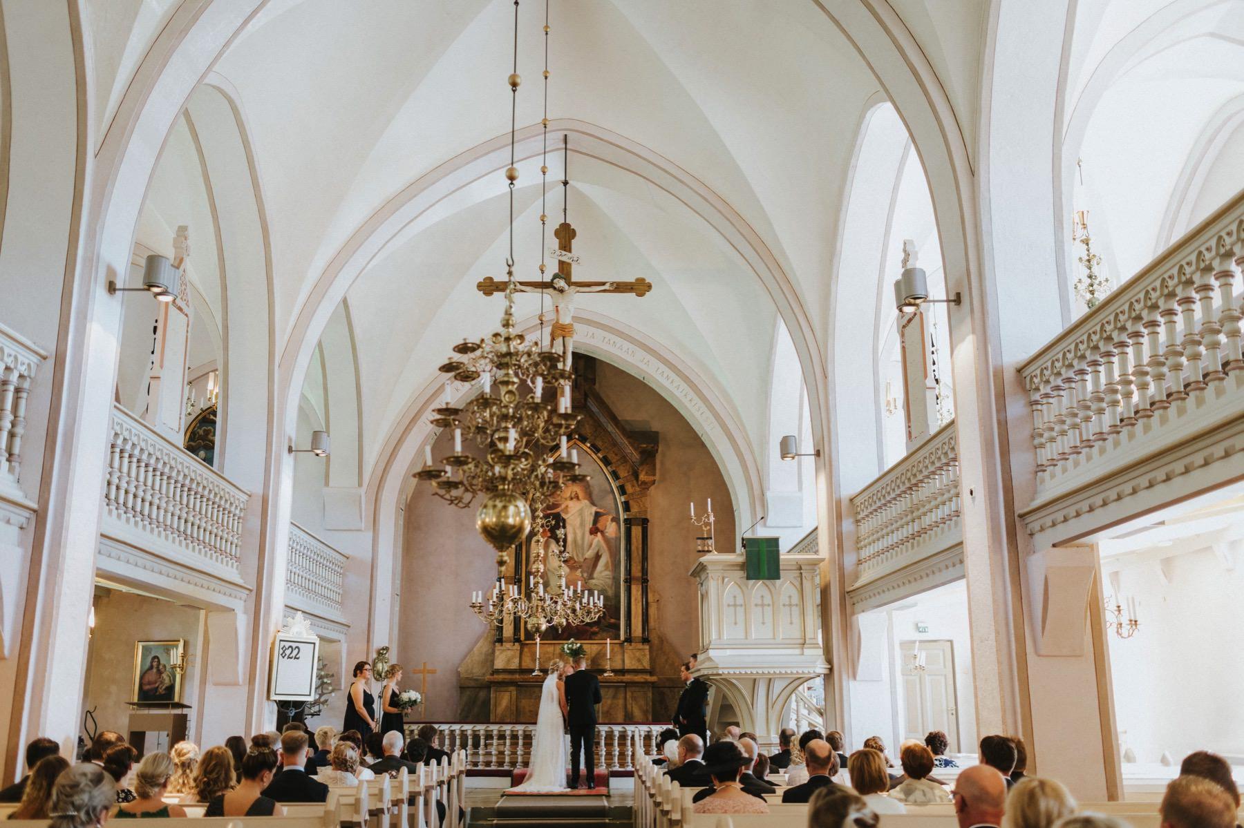 Euran kirkko vihkiminen