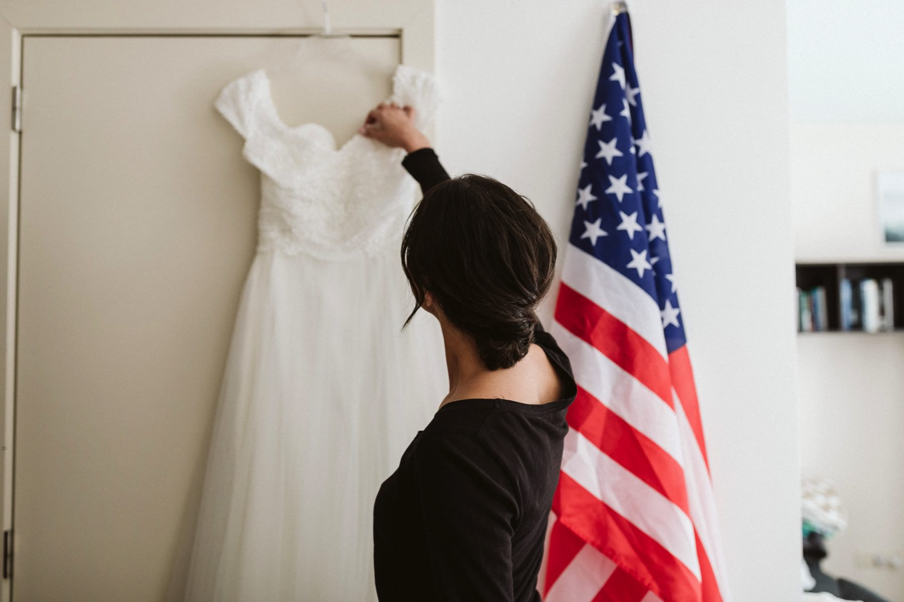 American wedding in Belgium