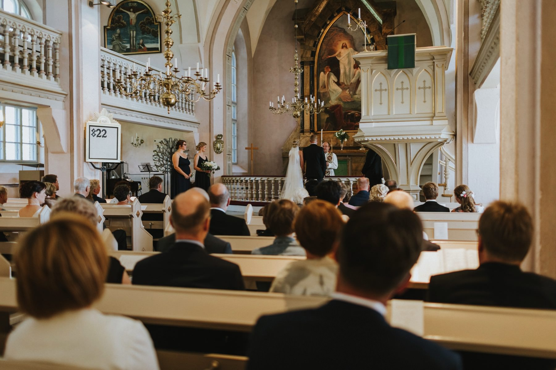 Eura Church wedding Finland