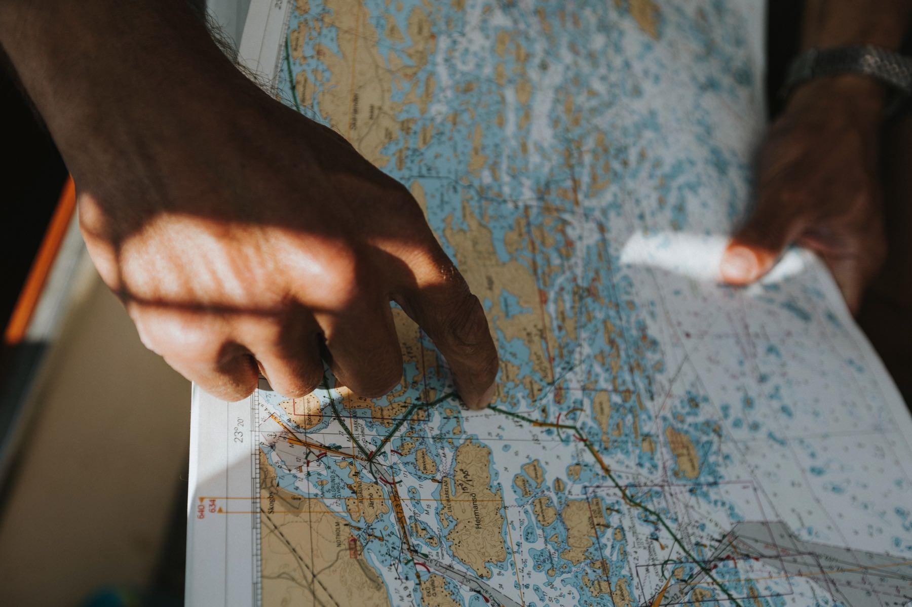 sailing and navigation photo